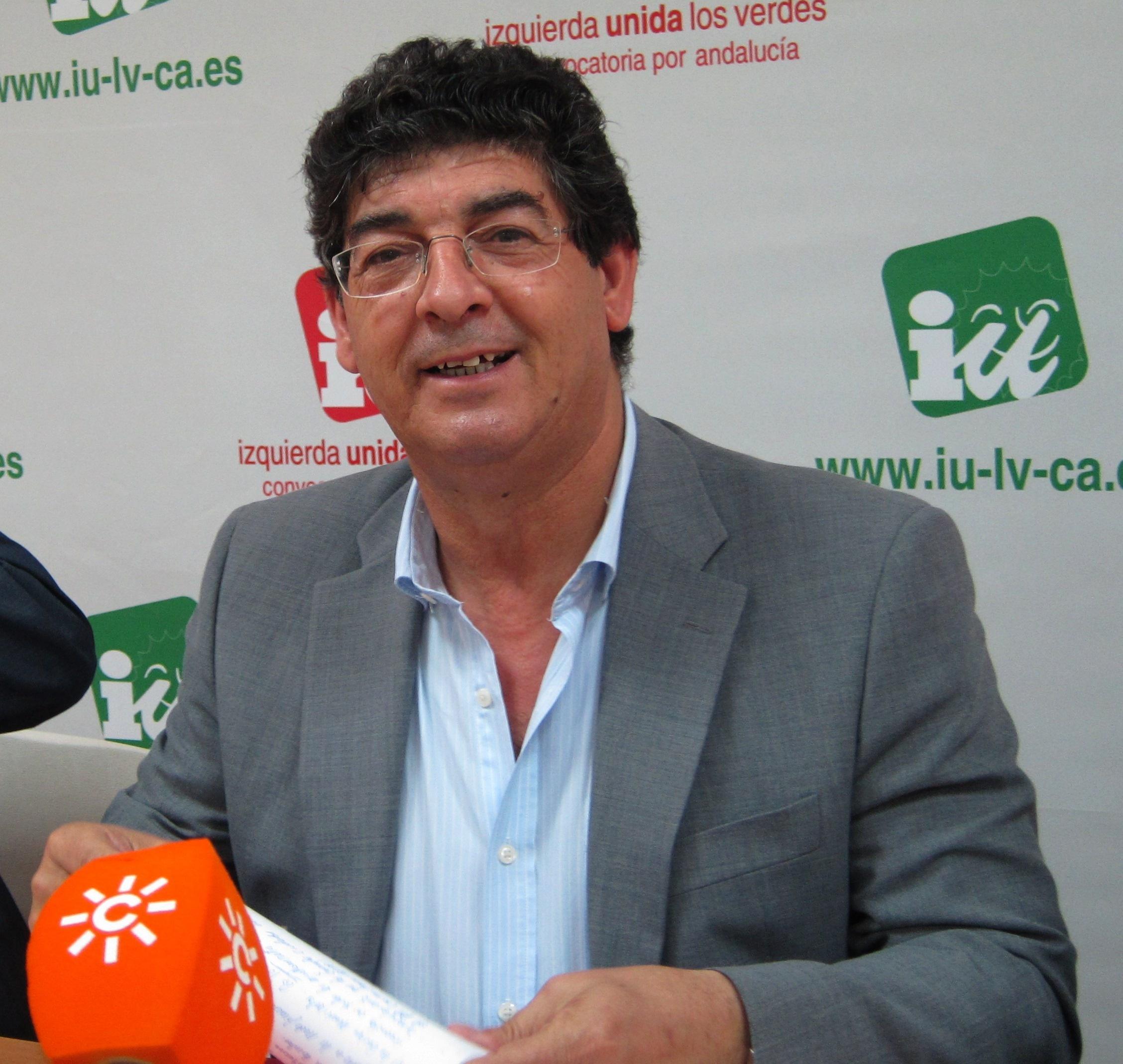 Valderas ofrece «mano tendida» al CUT-BAI para lograr una única candidatura en la Asamblea Andaluza de IULV-CA