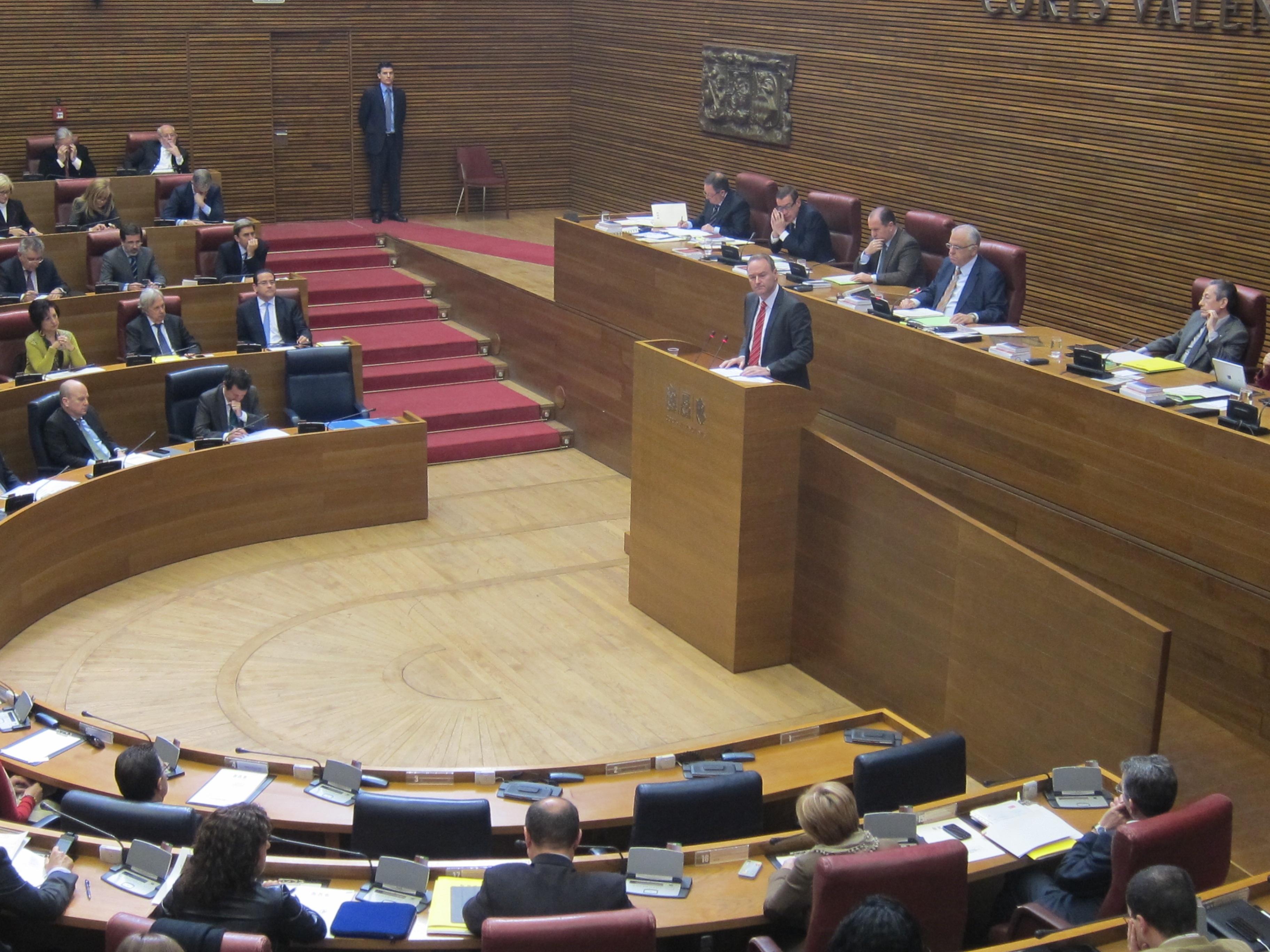 La corrupción, la crisis y el empleo centrarán la sesión de control a Fabra en las Corts