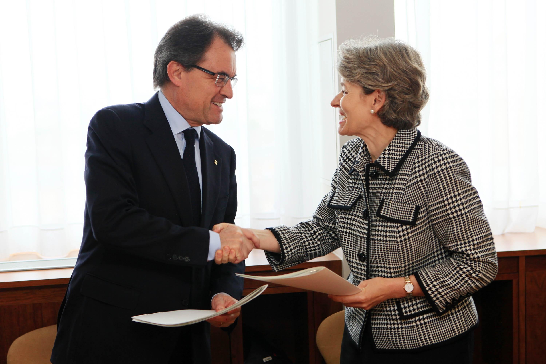 Mas destaca la importancia del francés para Cataluña porque representa a 200 millones de «vecinos»