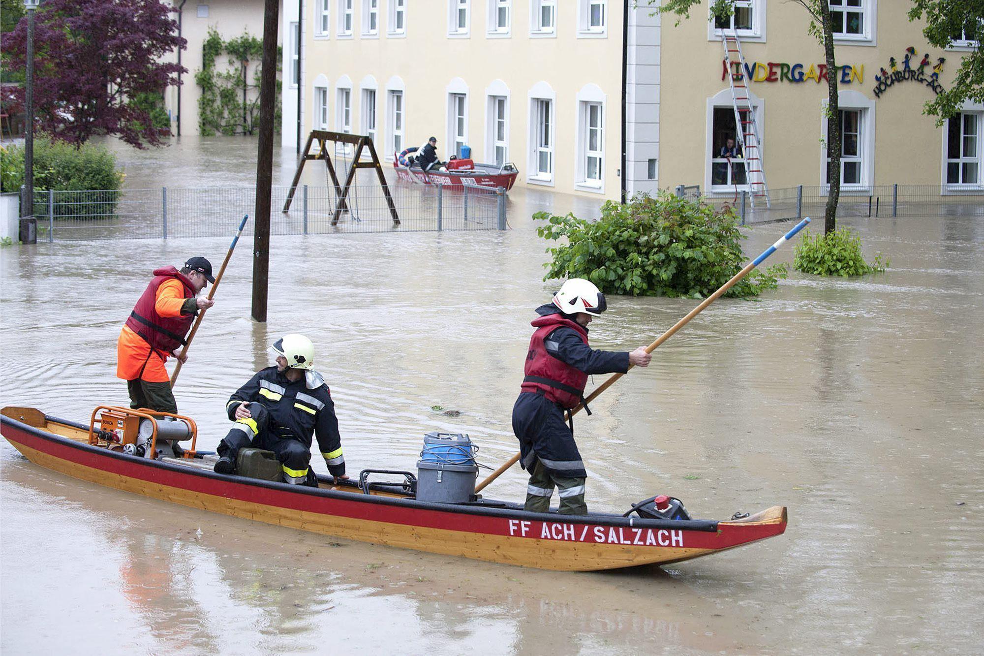 Las inundaciones en Alemania llegan a los 12 metros, superando los niveles de 1954