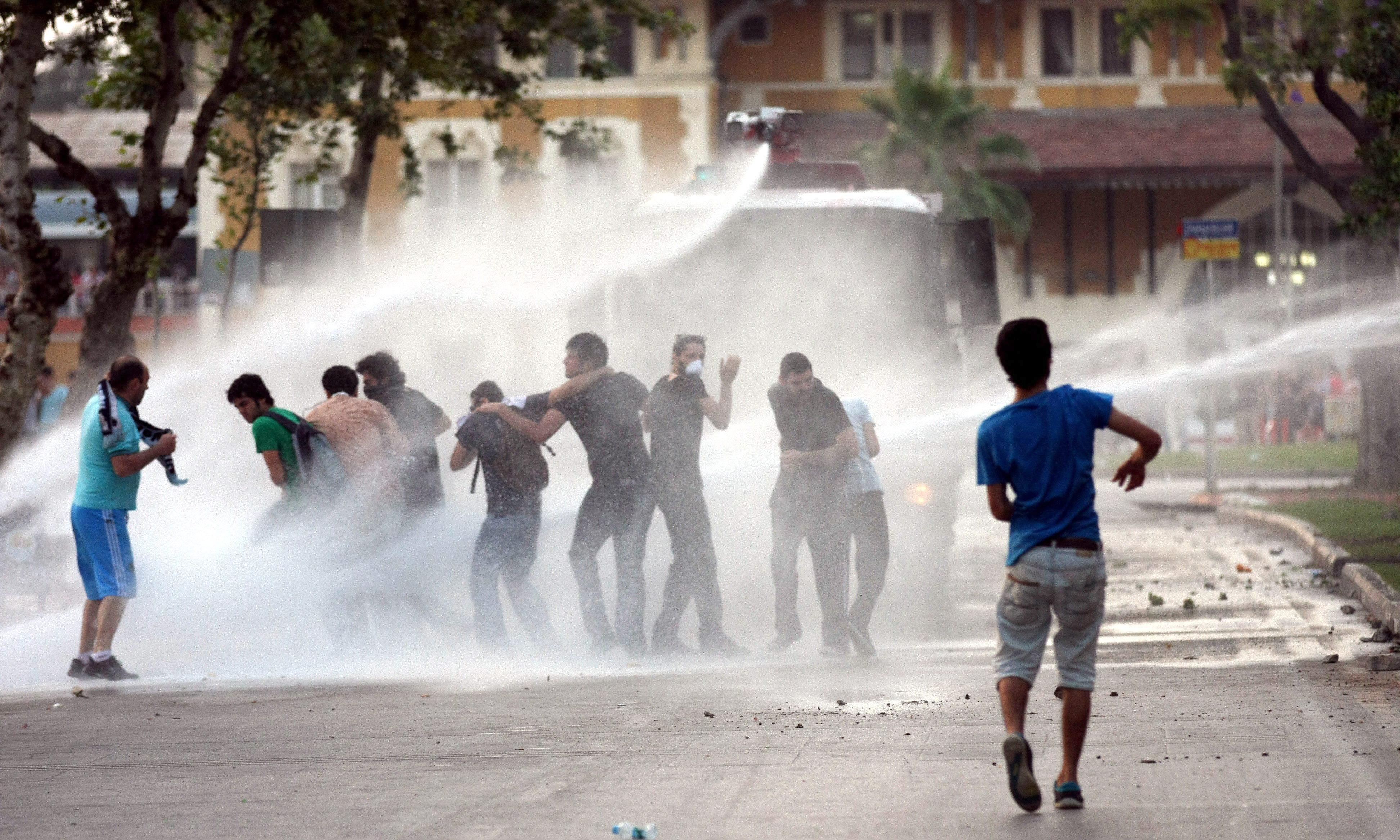 Taksim no es Tahir, pero…