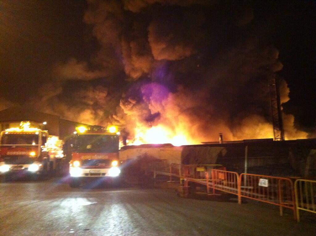 El incendio de Arganda del Rey se encuentra ya en fase de control