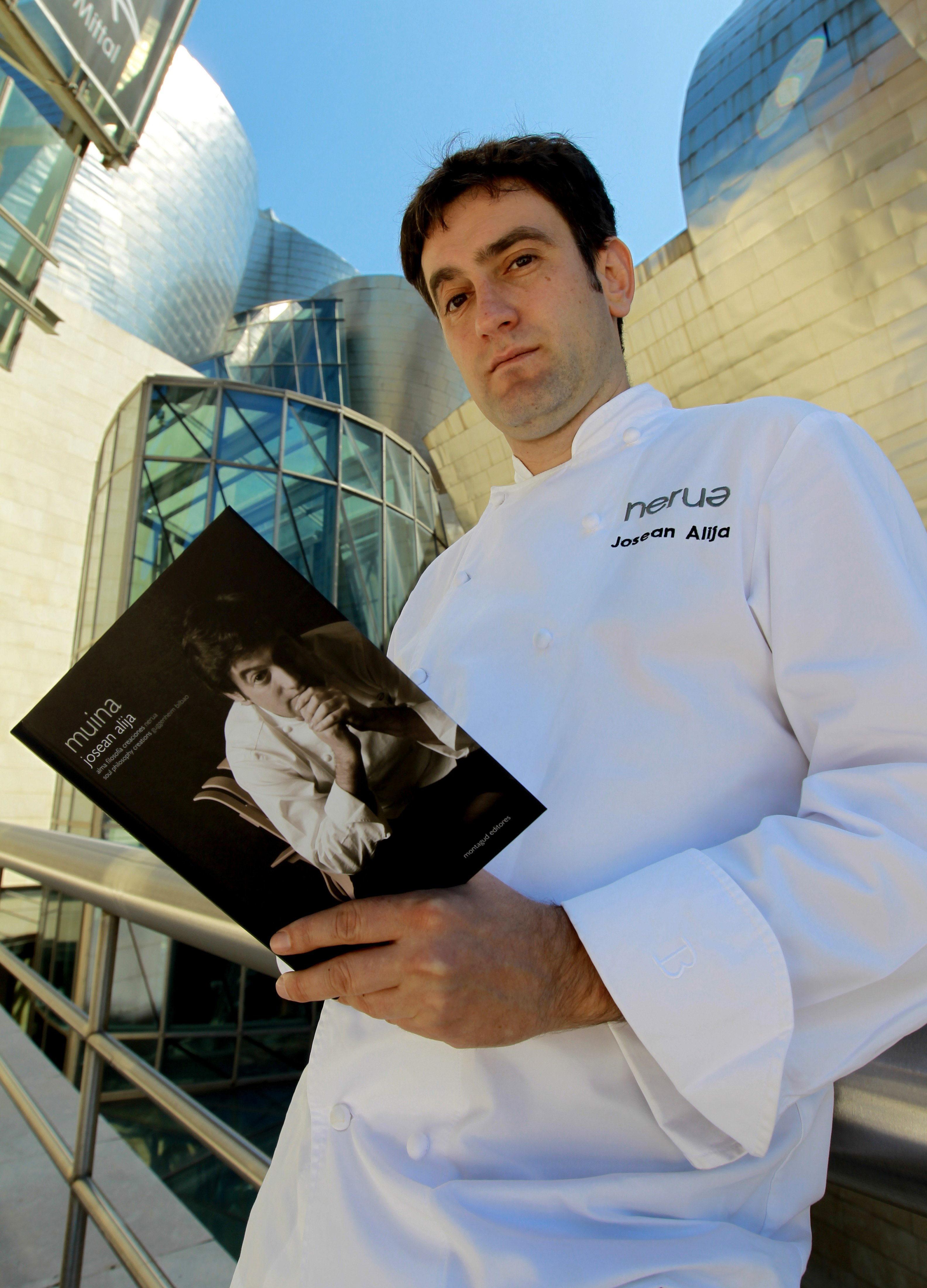 Alija, el chef del Guggenheim, desvela en un libro el «meollo» de su cocina
