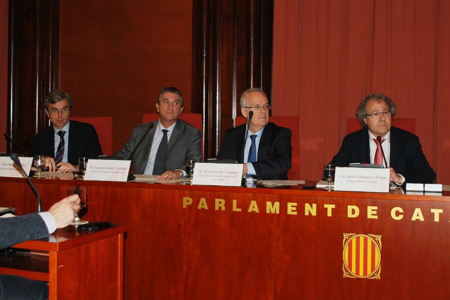 ERC, PSC, ICV-EUiA rechazan el ERE en los medios públicos catalanes