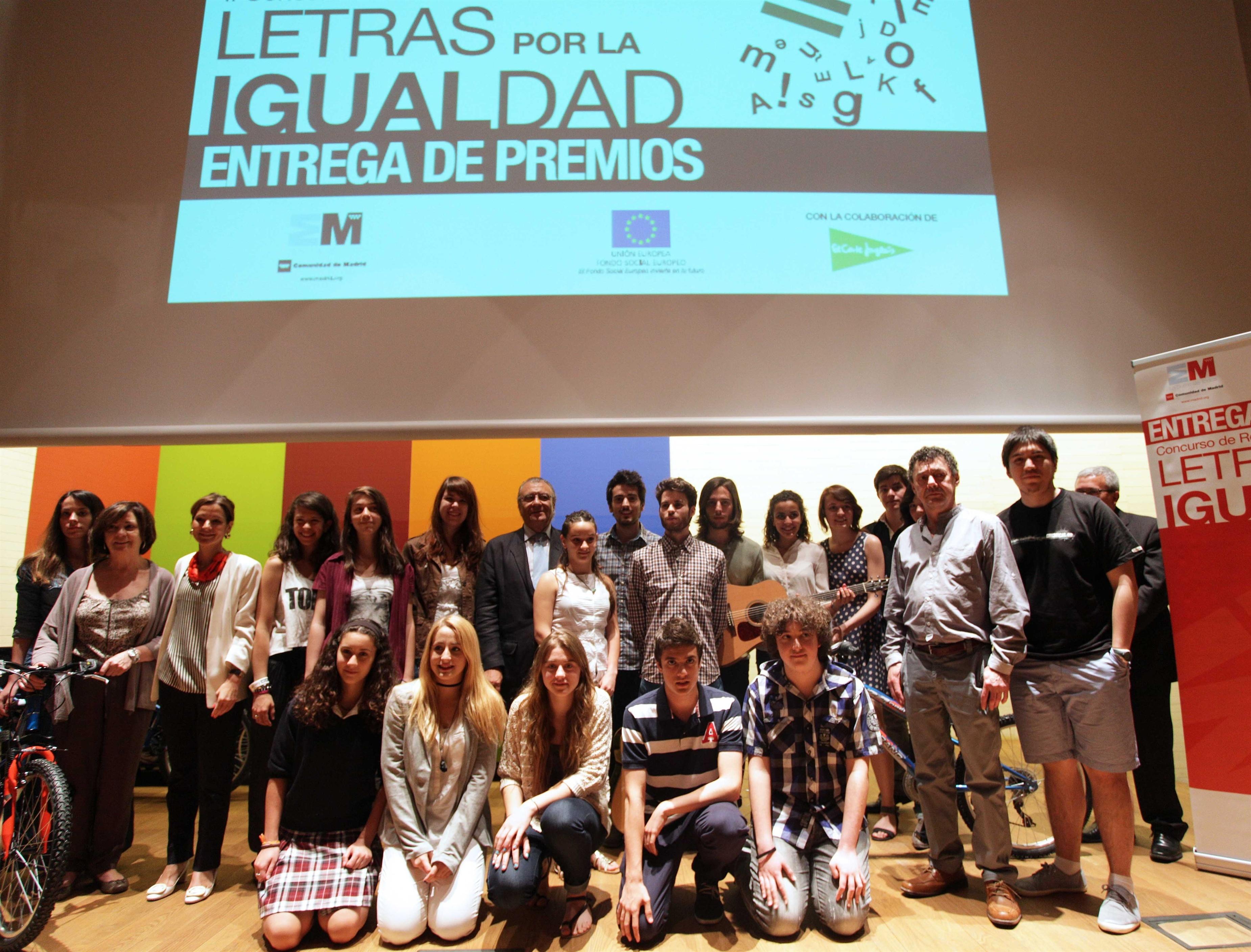 Entregados los premios del II Concurso de redacción »Letras por la Igualdad»