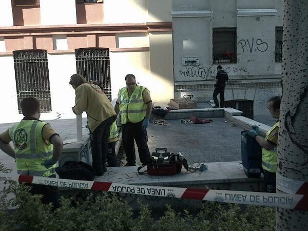 Hallado en un parque de Madrid el cadáver de un indigente con signos de violencia