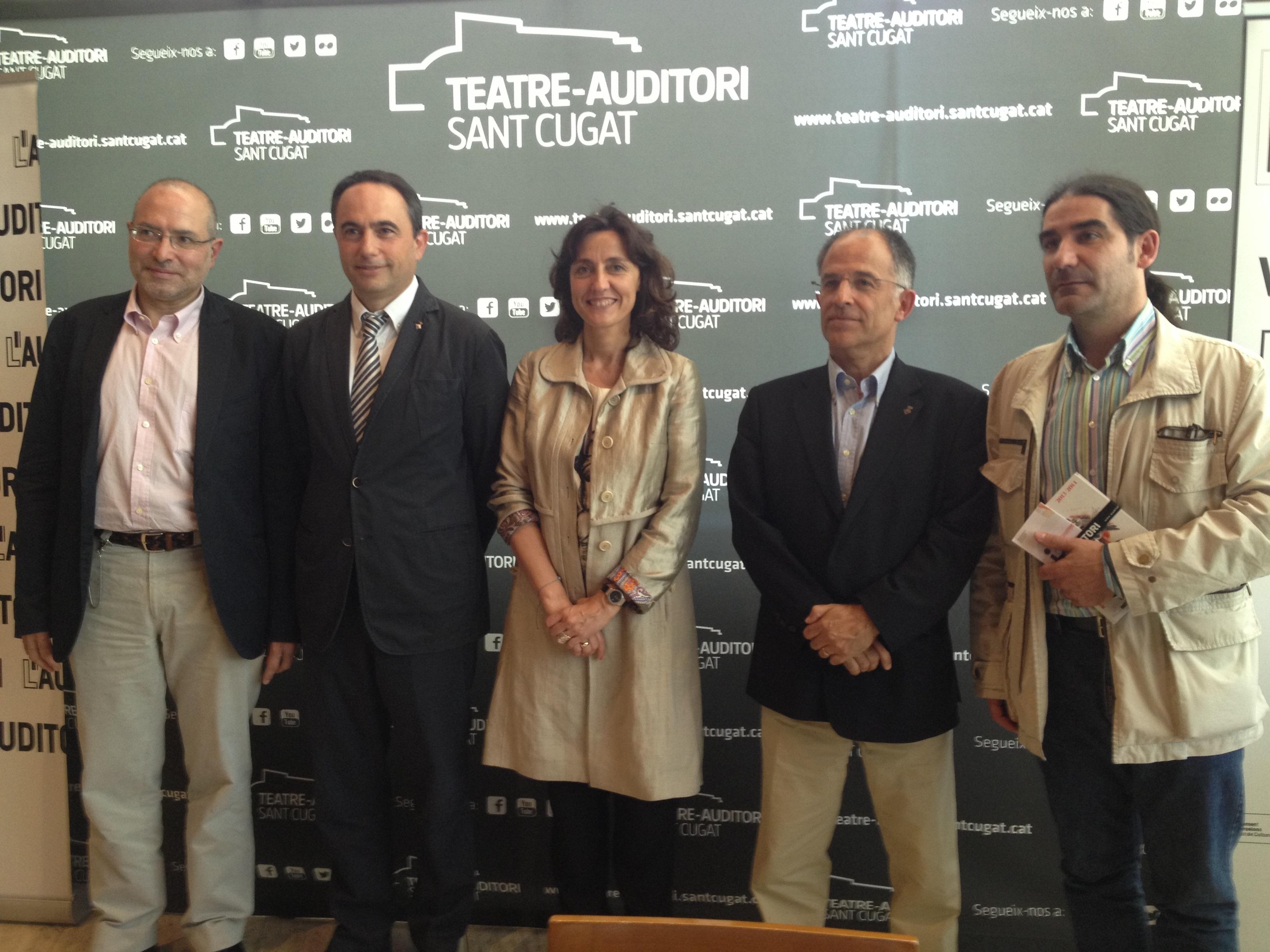 L»Auditori inicia una política de colaboración territorial con un acuerdo con Sant Cugat