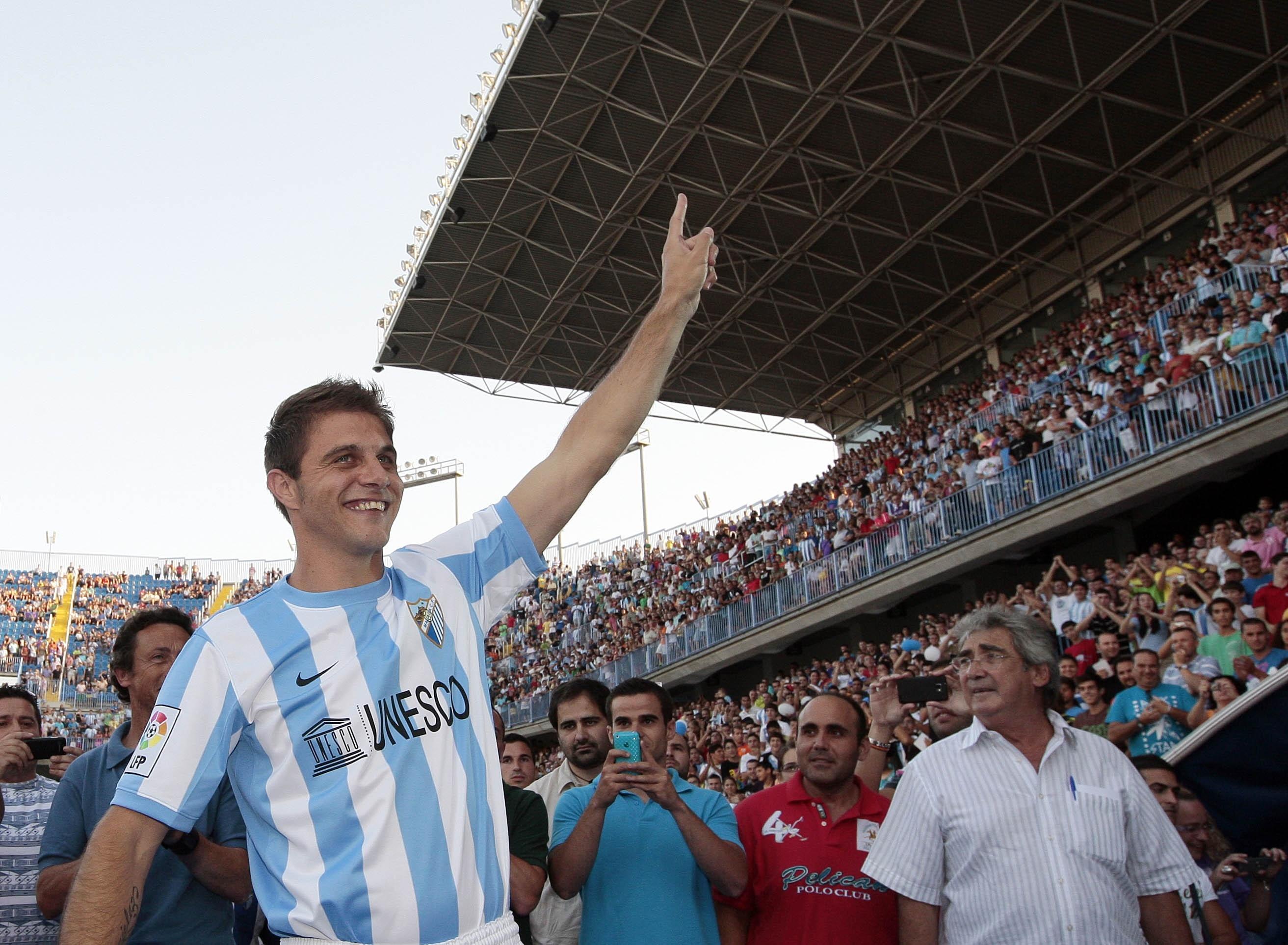 Málaga y Fiorentina acuerdan el traspaso de Joaquín