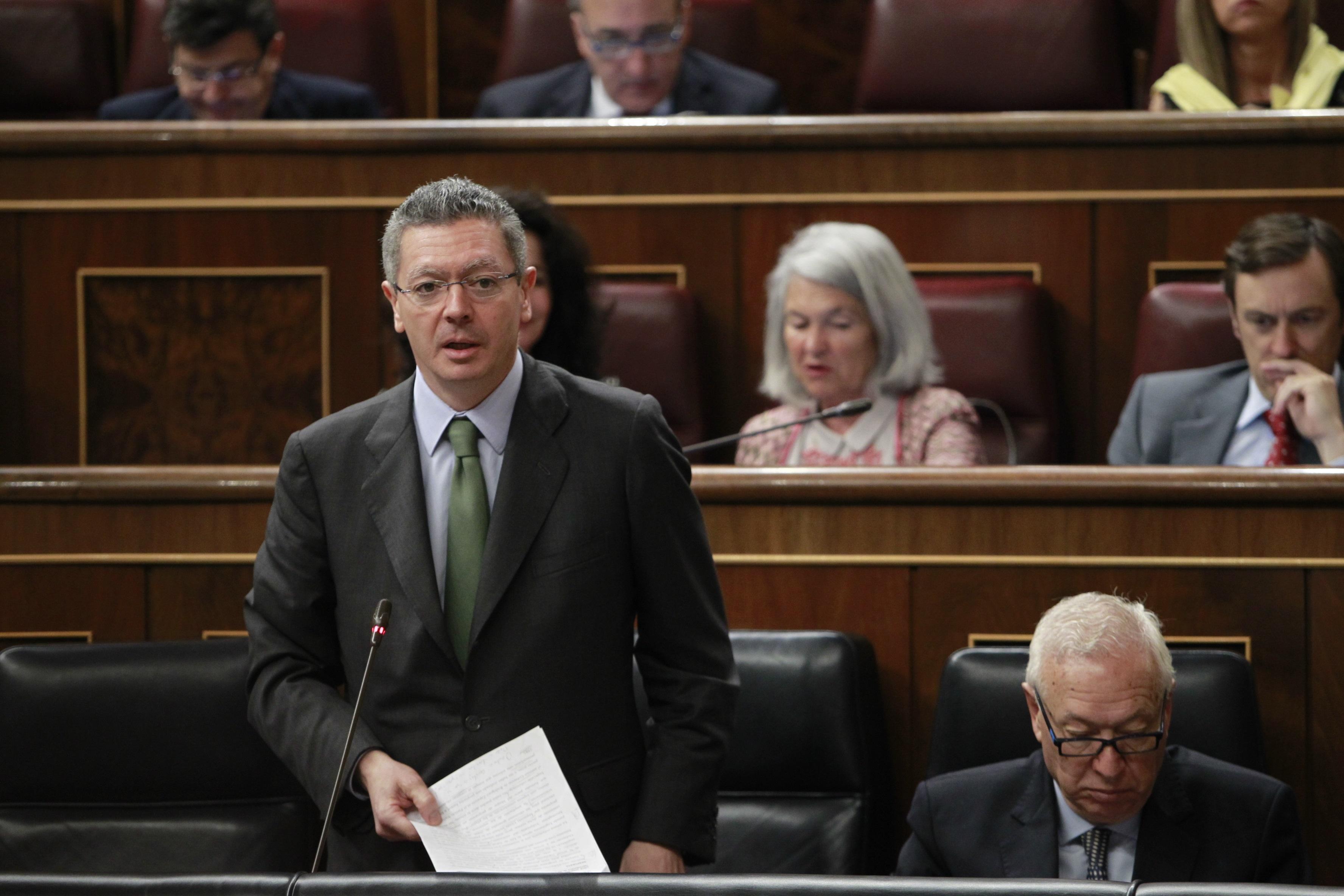 Ruiz-Gallardón afirma que el aforamiento es una limitación de derechos y que suprimirlo llevaría a reformar Constitución