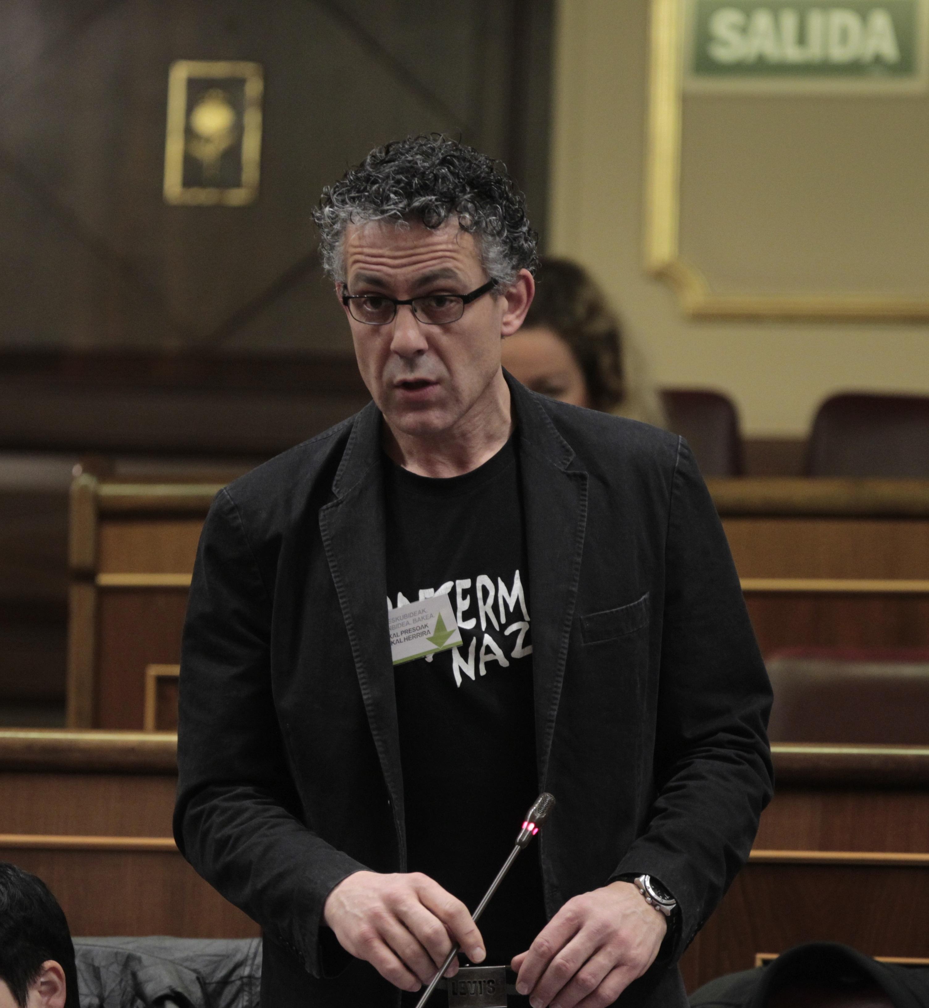 Amaiur replica al PSC que el concierto vasco es un «derecho, no un privilegio»