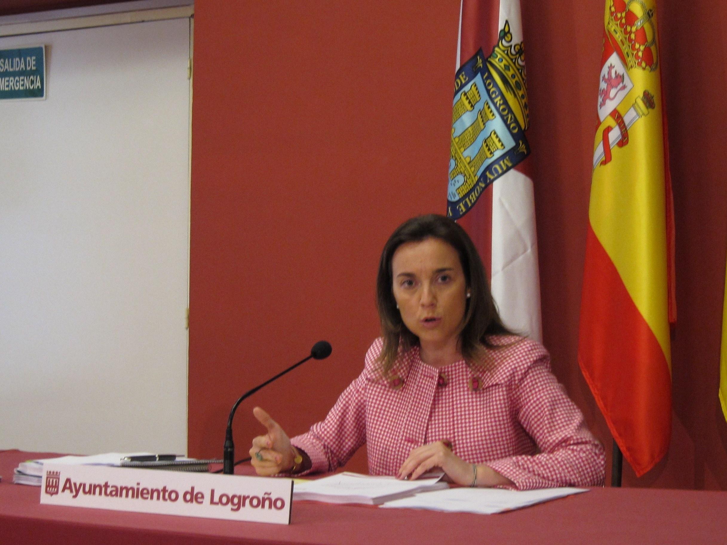 Gamarra recalca que Logroño es una ciudad «solvente, saneada, con futuro, cohesionada y con calidad de vida»
