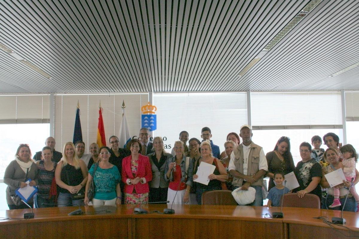 El Gobierno de Canarias gestiona el alquiler social de 280 viviendas