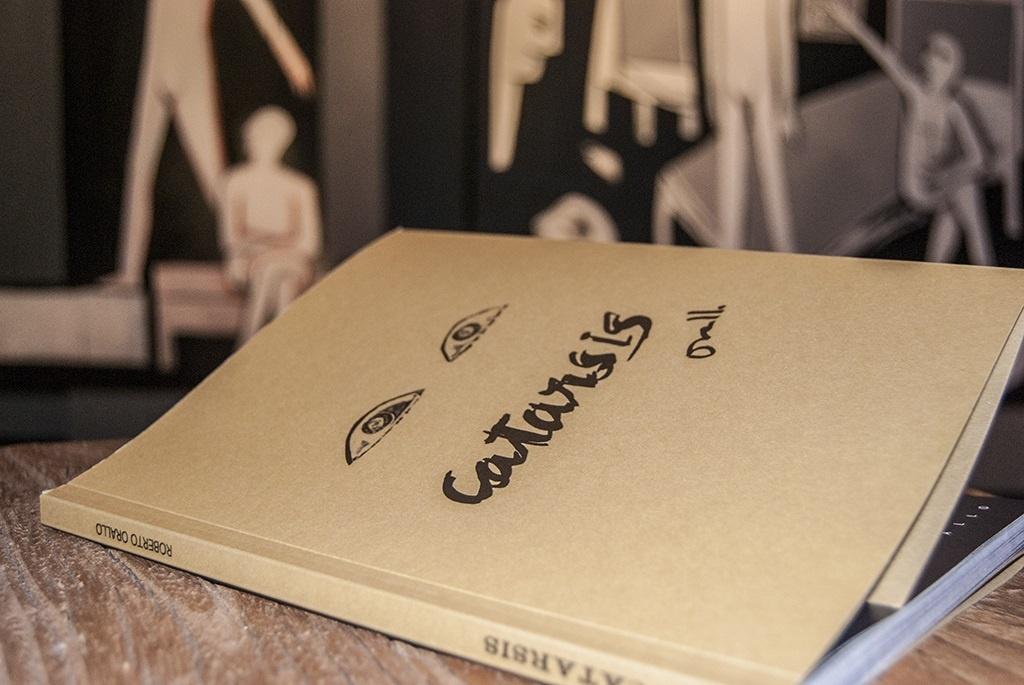 Roberto Orallo presenta hoy la segunda edición de su libro »Catarsis»