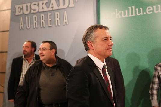 Urkullu dice que Rajoy le tiene «en ascuas» porque no responde a sus propuestas para abordar una política de reinserción