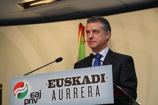 Urkullu dice que, si fuera por él, el 25 de octubre se sustituiría por el día en que se creó el primer Gobierno vasco