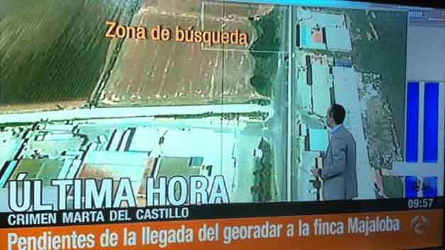 La Policía busca unos guantes y los sacos de cal con los que Carcaño dice que enterraron a Marta
