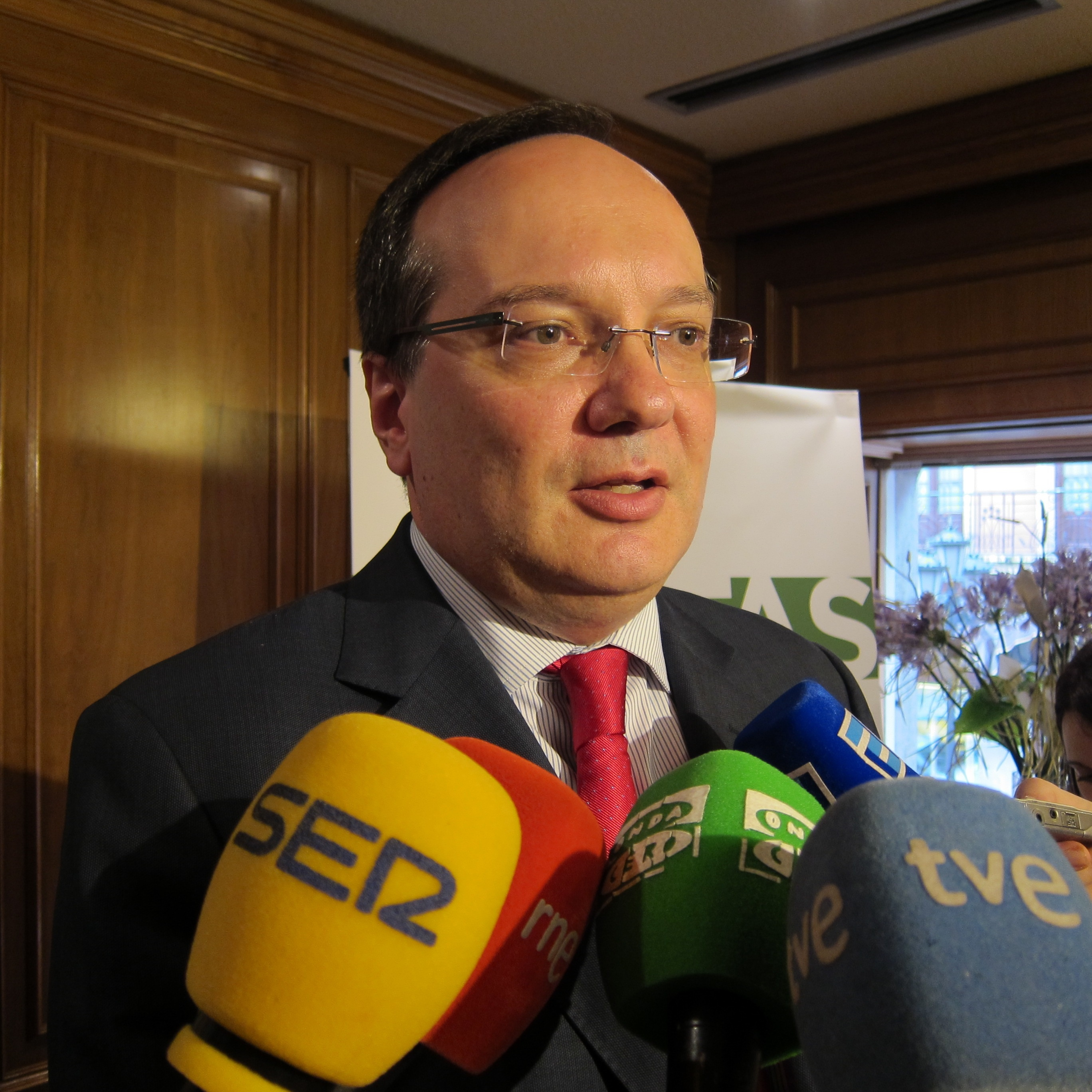 El nuevo presidente de Aefas cree que se avanza en la línea de la recuperación y 2014 será «un buen año»