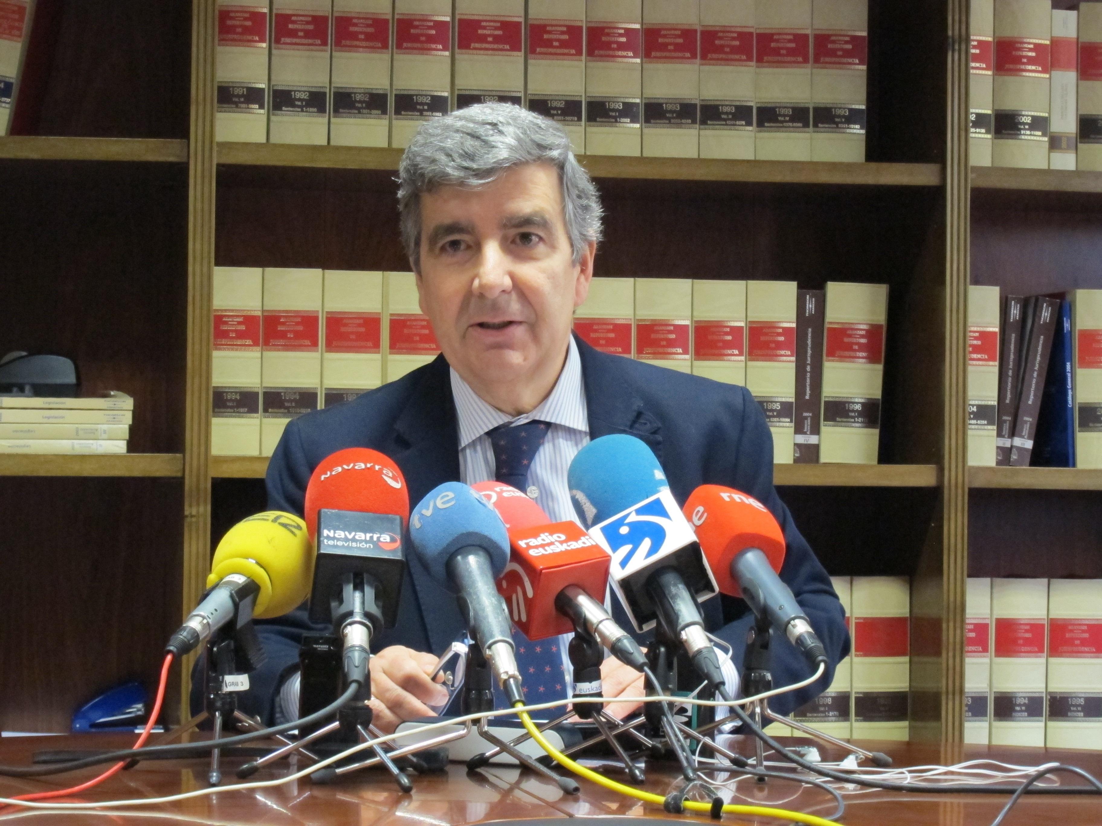 El presidente del TSJN valora «las declaraciones públicas de respeto» de los políticos afectados por el caso CAN