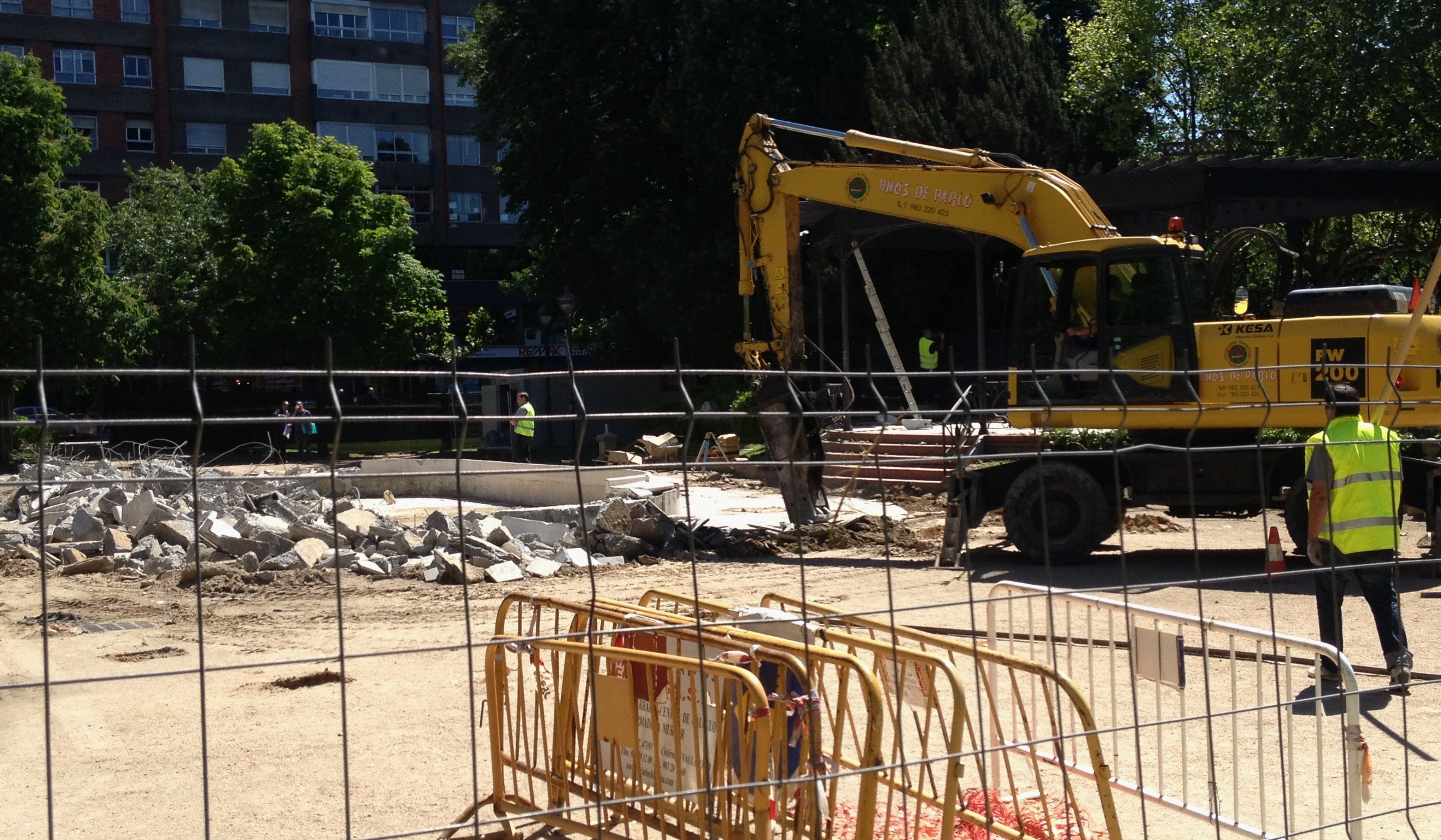 El Ayuntamiento de Valladolid comienza las obras para trasladar a Poniente el Mercado del Val