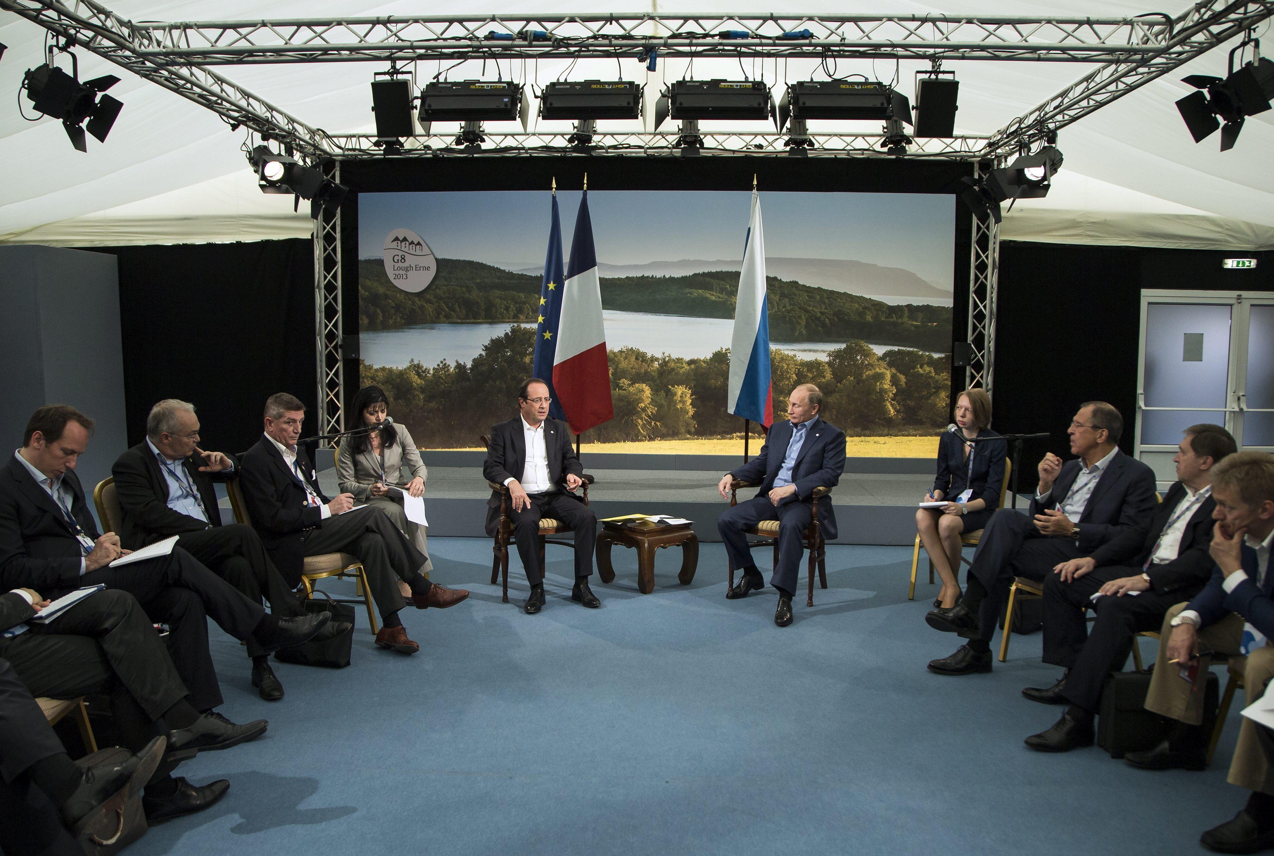 Comienza la cumbre del G8 en Irlanda del Norte