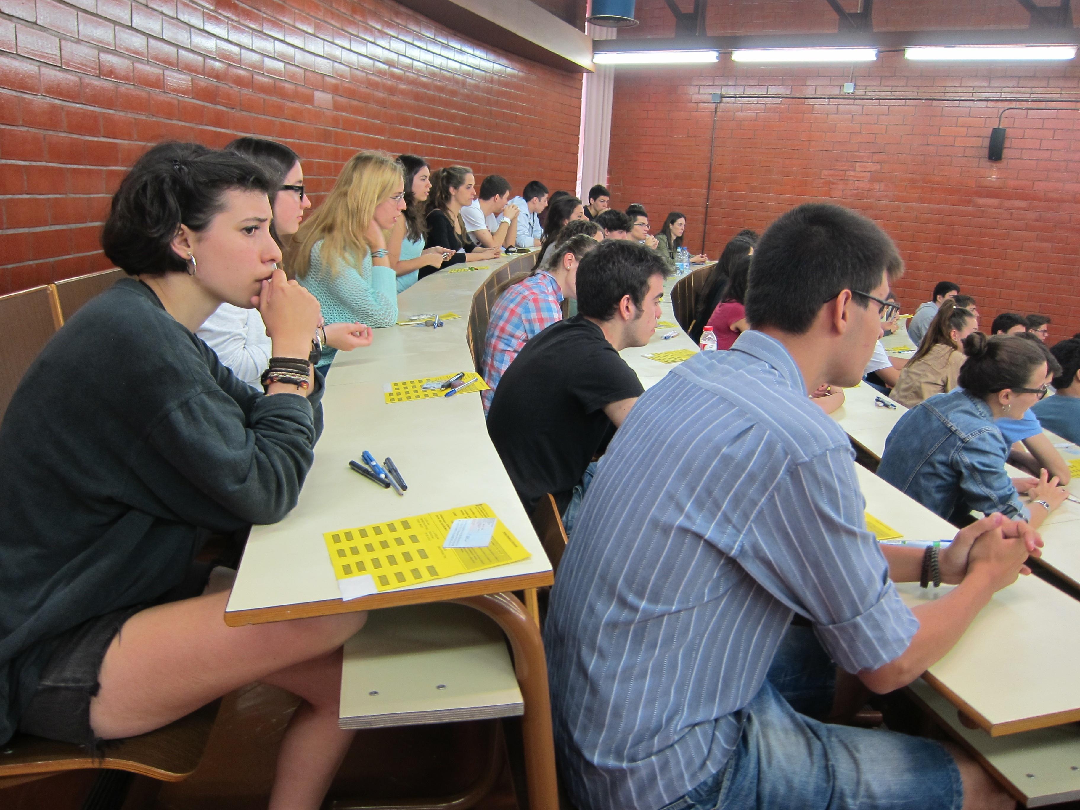 El 97,1% de los 1.032 alumnos de Enseñanzas Medias aprueba la selectividad en el distrito universitario de La Rioja