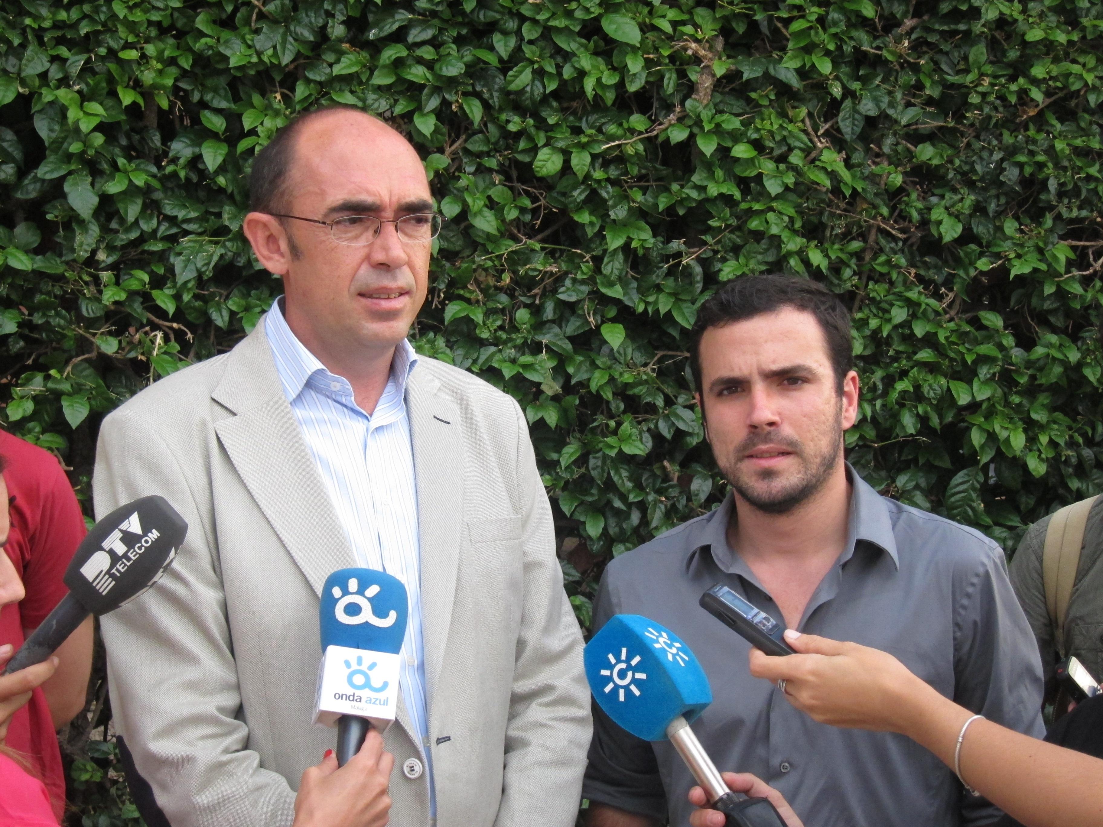 Garzón (IU) dice que el cambio de nombre del Hospital Carlos Haya «recupera la dignidad de las víctimas»