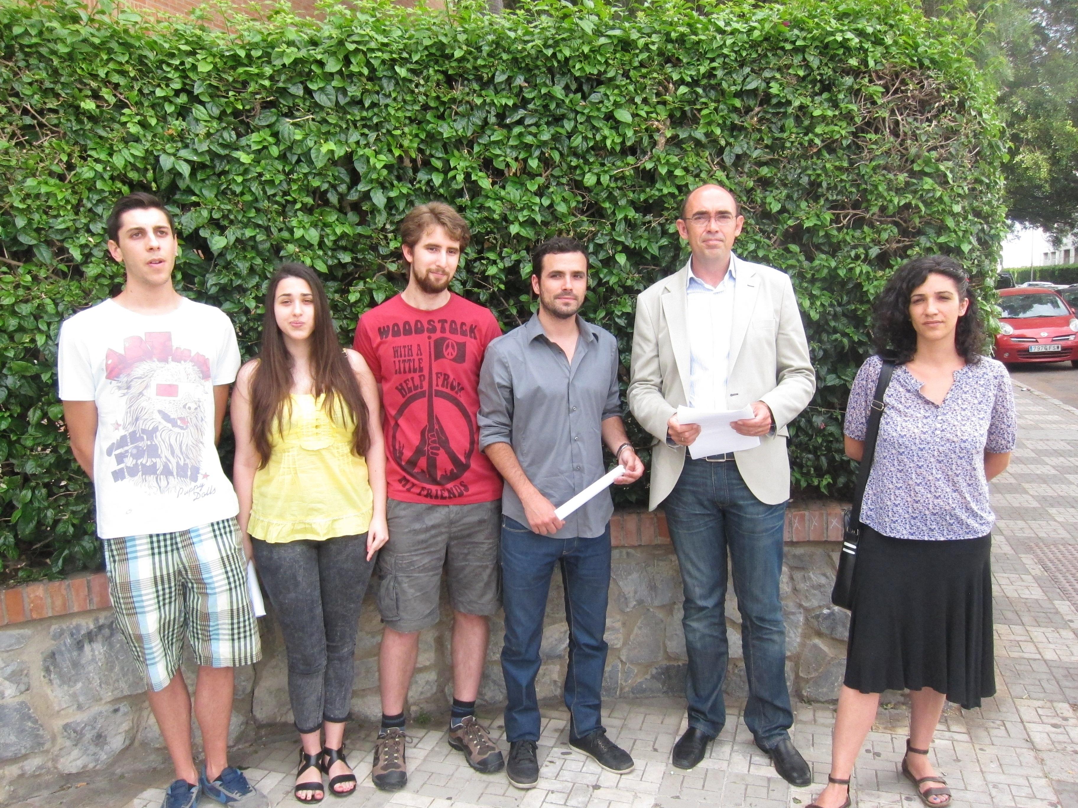 IU pide al Ayuntamiento que ayude a los estudiantes «expulsados» de la UMA a pagar sus matrículas