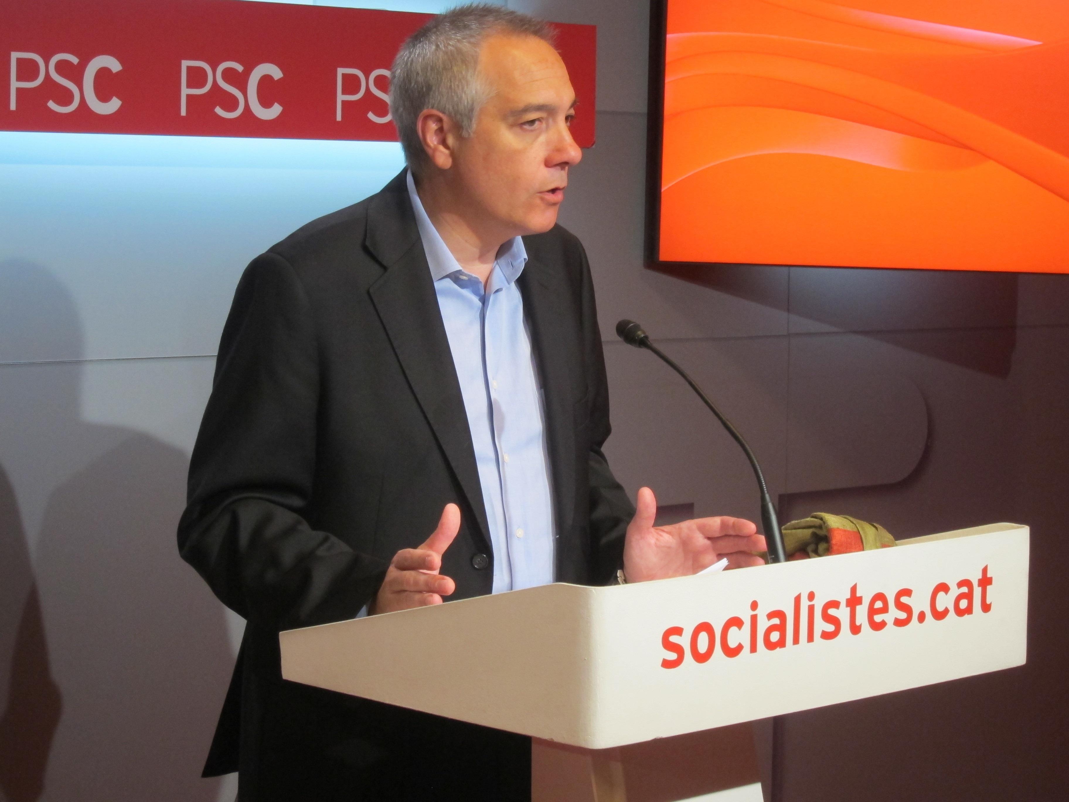 Lambán y el líder del PSC coinciden en la necesidad de reformar la Constitución