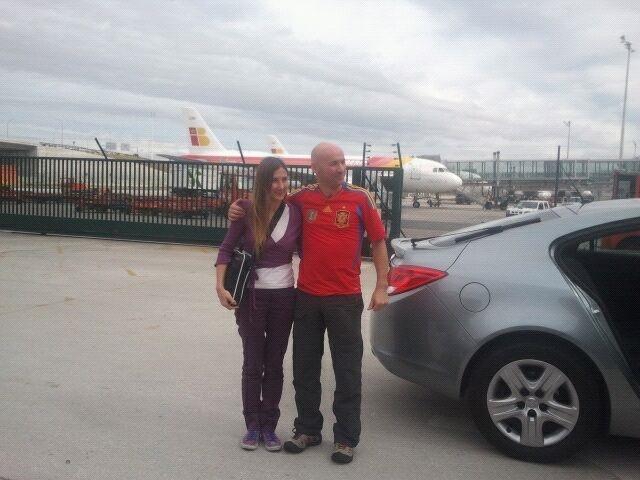 Llegan a Madrid los dos turistas que fueron secuestrados en Colombia