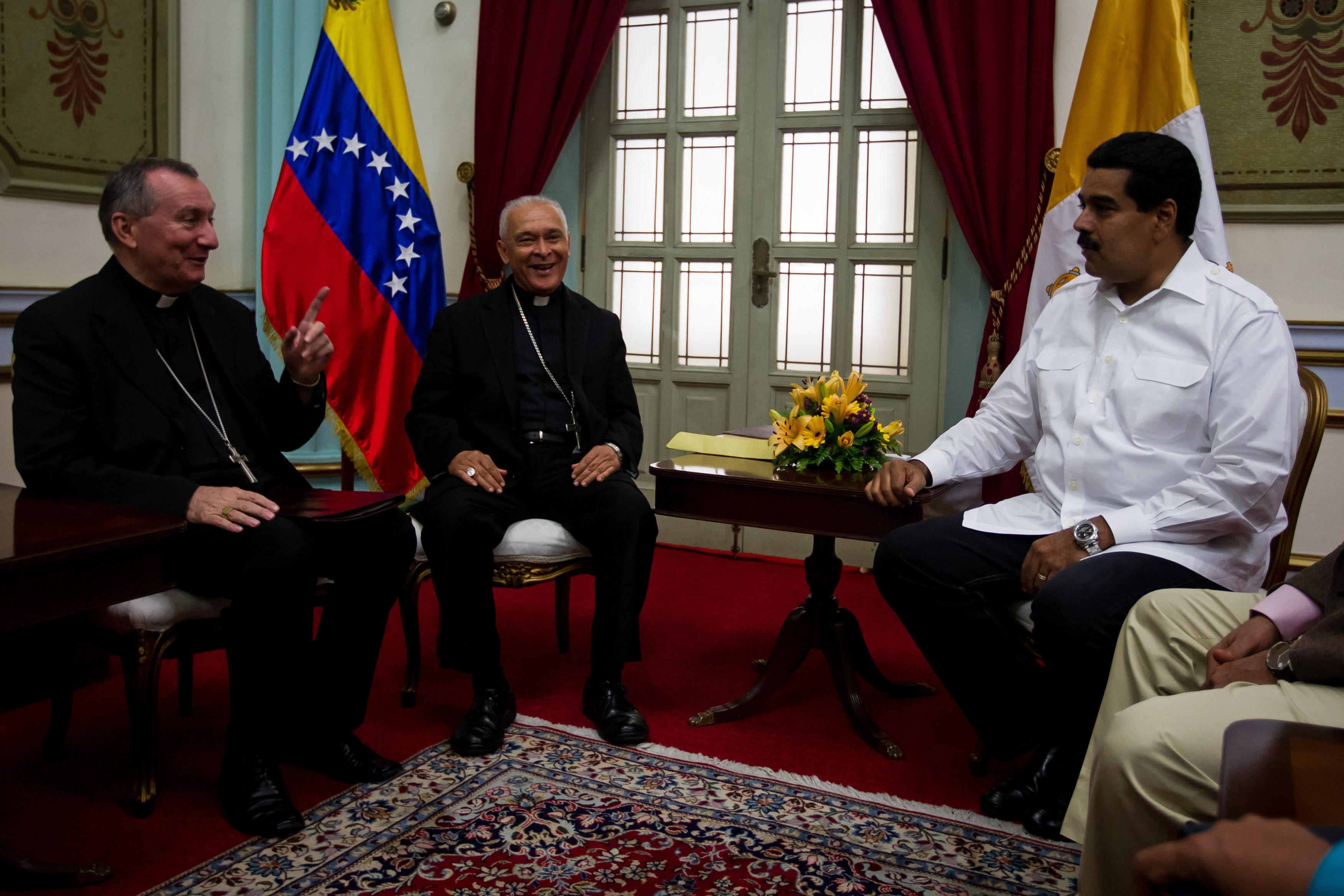 El papa y Maduro repasaron la situación política y social de Venezuela
