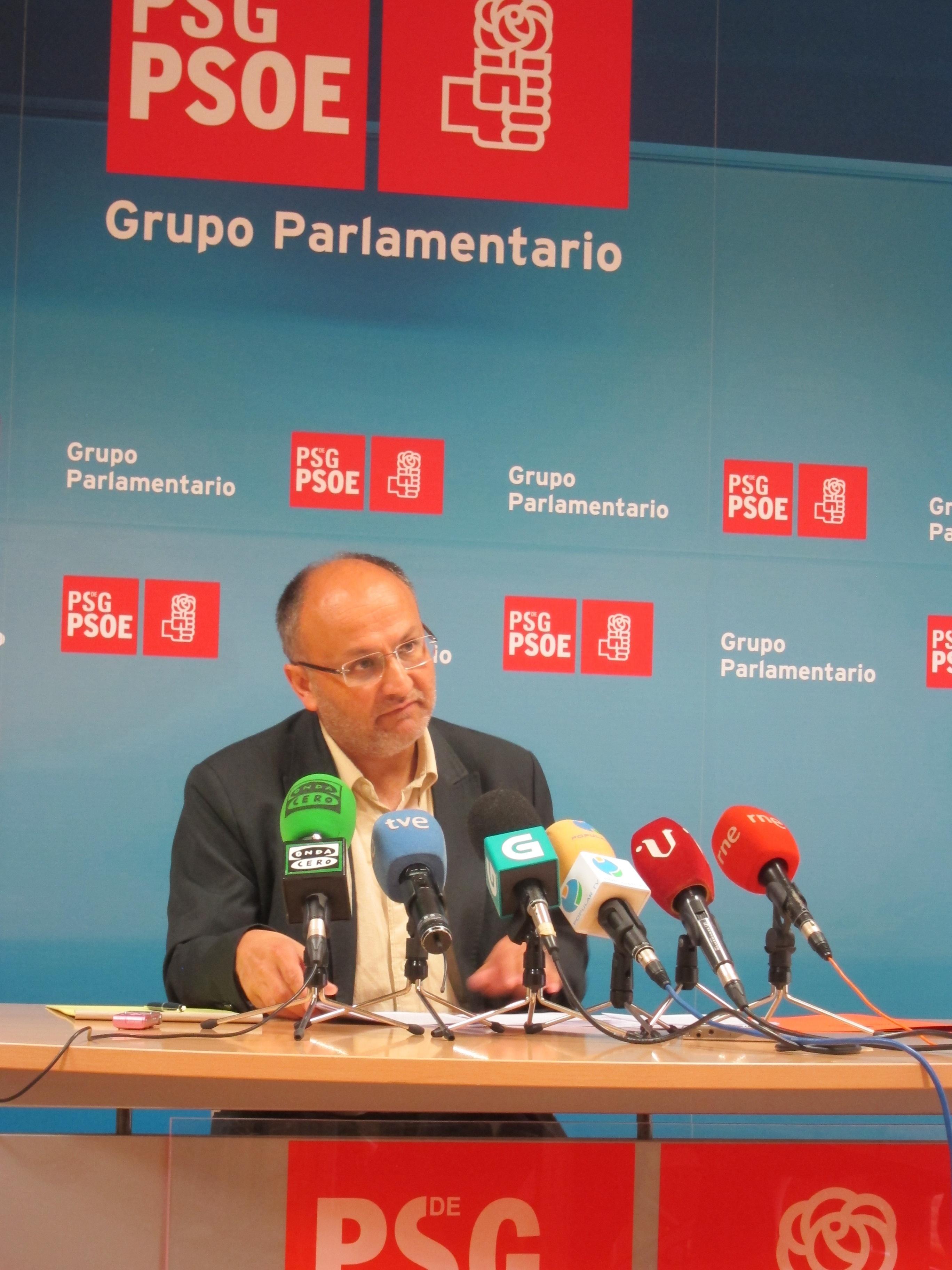 El PSdeG vuelve a pedir la comparecencia de Feijóo para abordar la relación de la Xunta con empresas de Marcial Dorado