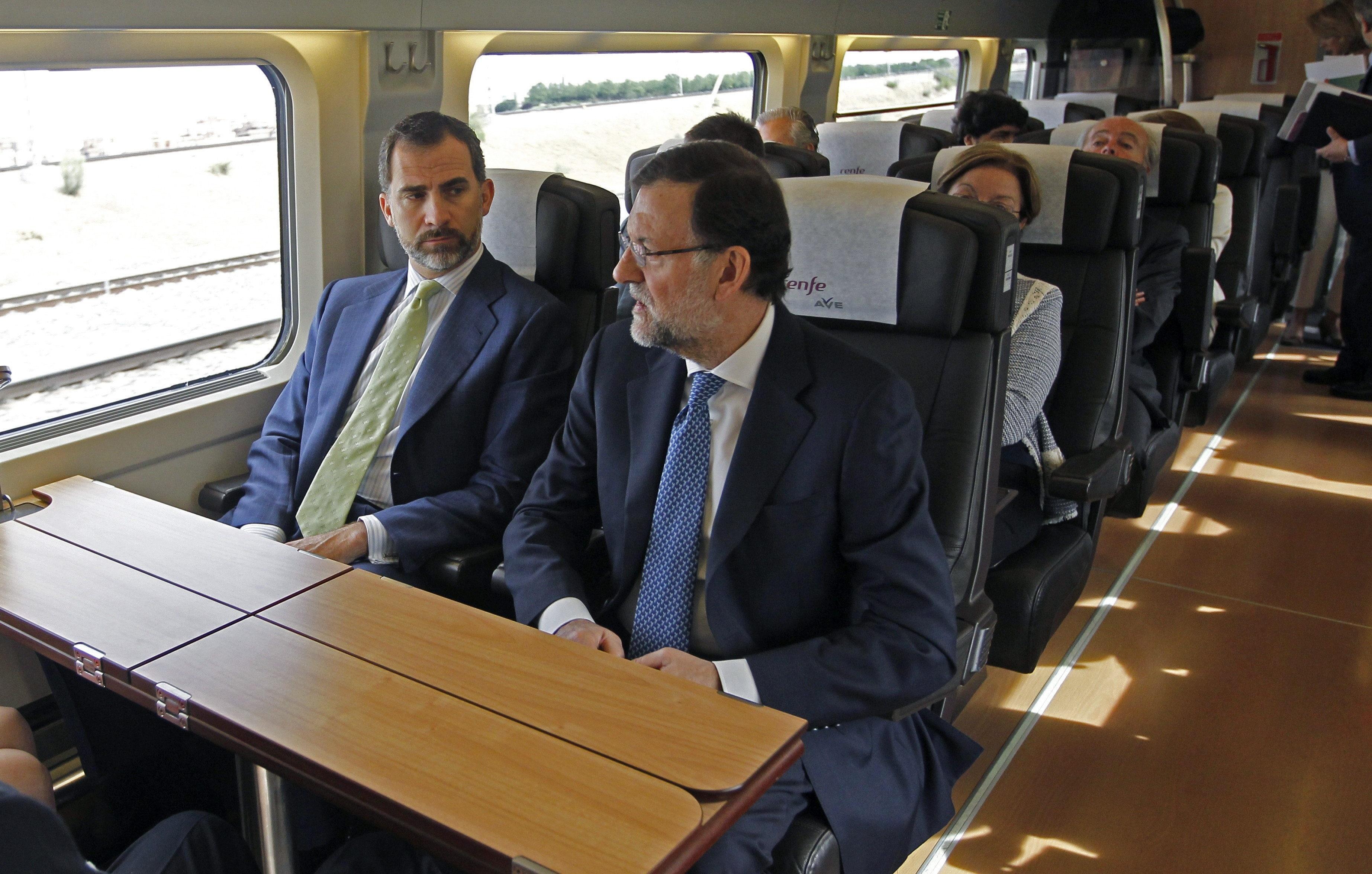 El Príncipe destaca el papel del AVE a Alicante como «palanca» económica