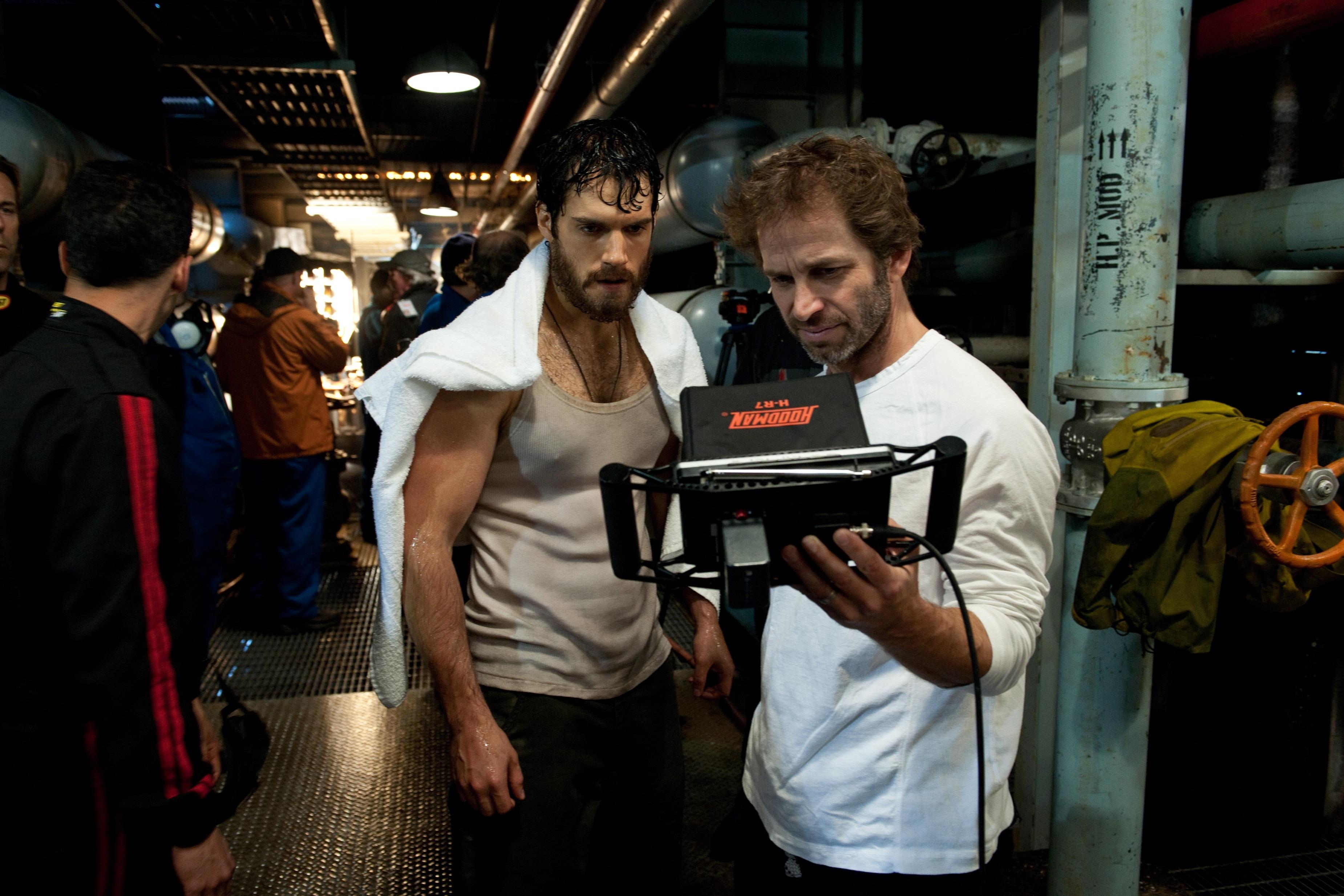 Zack Snyder y David S. Goyer cosiguen superar el gafe de »Superman»