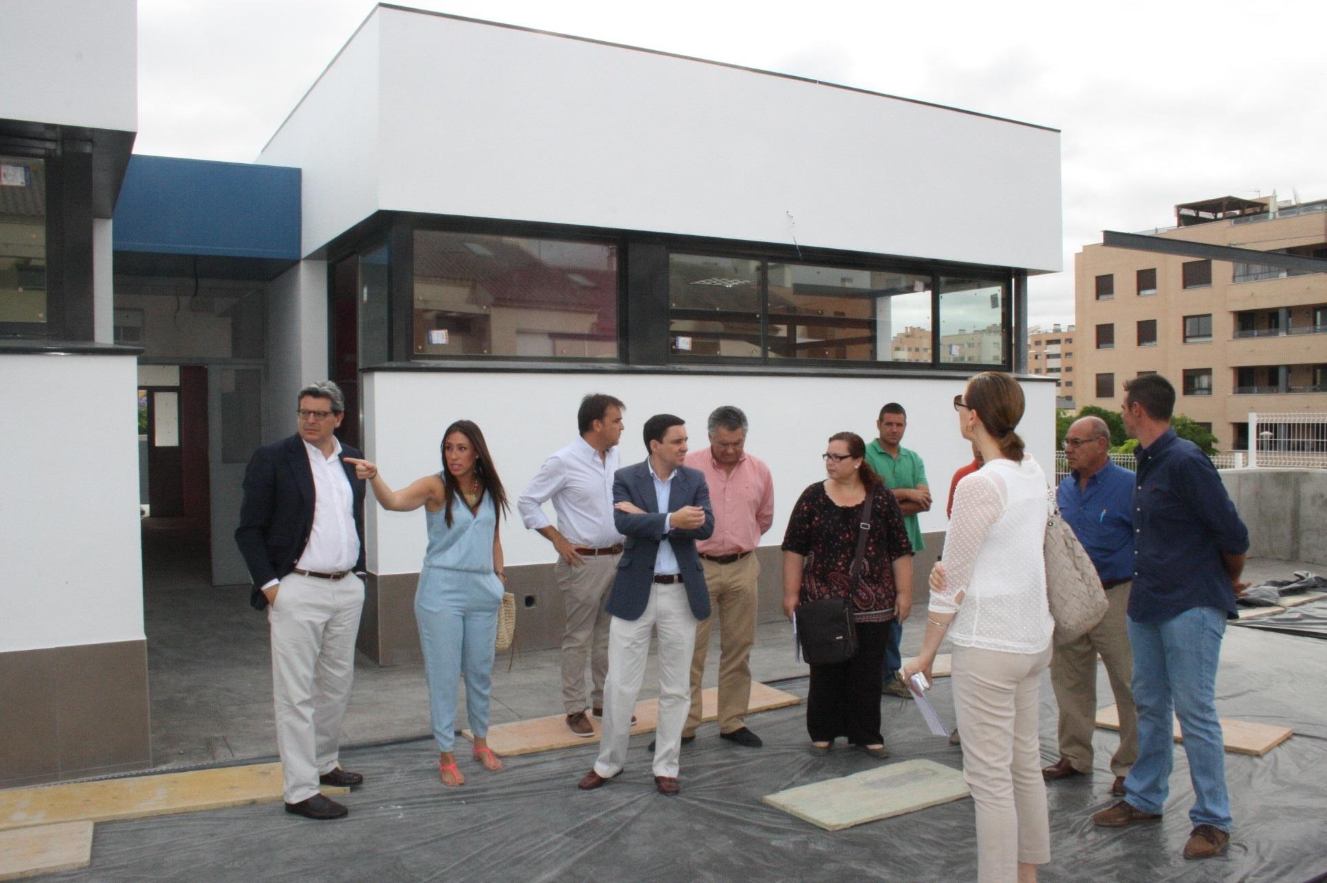 Tarno visita las obras de la nueva escuela infantil »El Jardinillo», que abrirá en septiembre