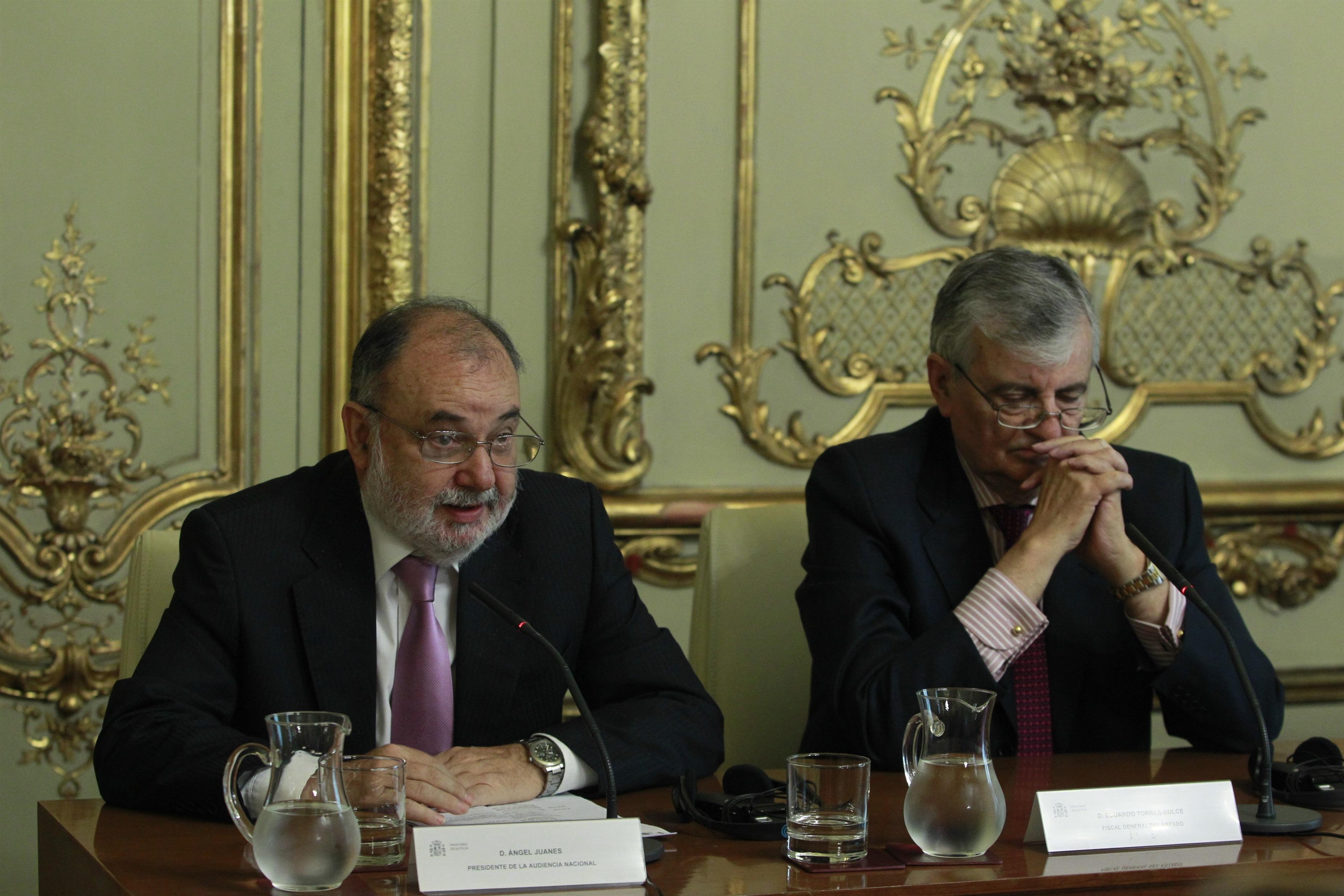 Torres-Dulce defiende la labor de los fiscales del «Caso Millet»