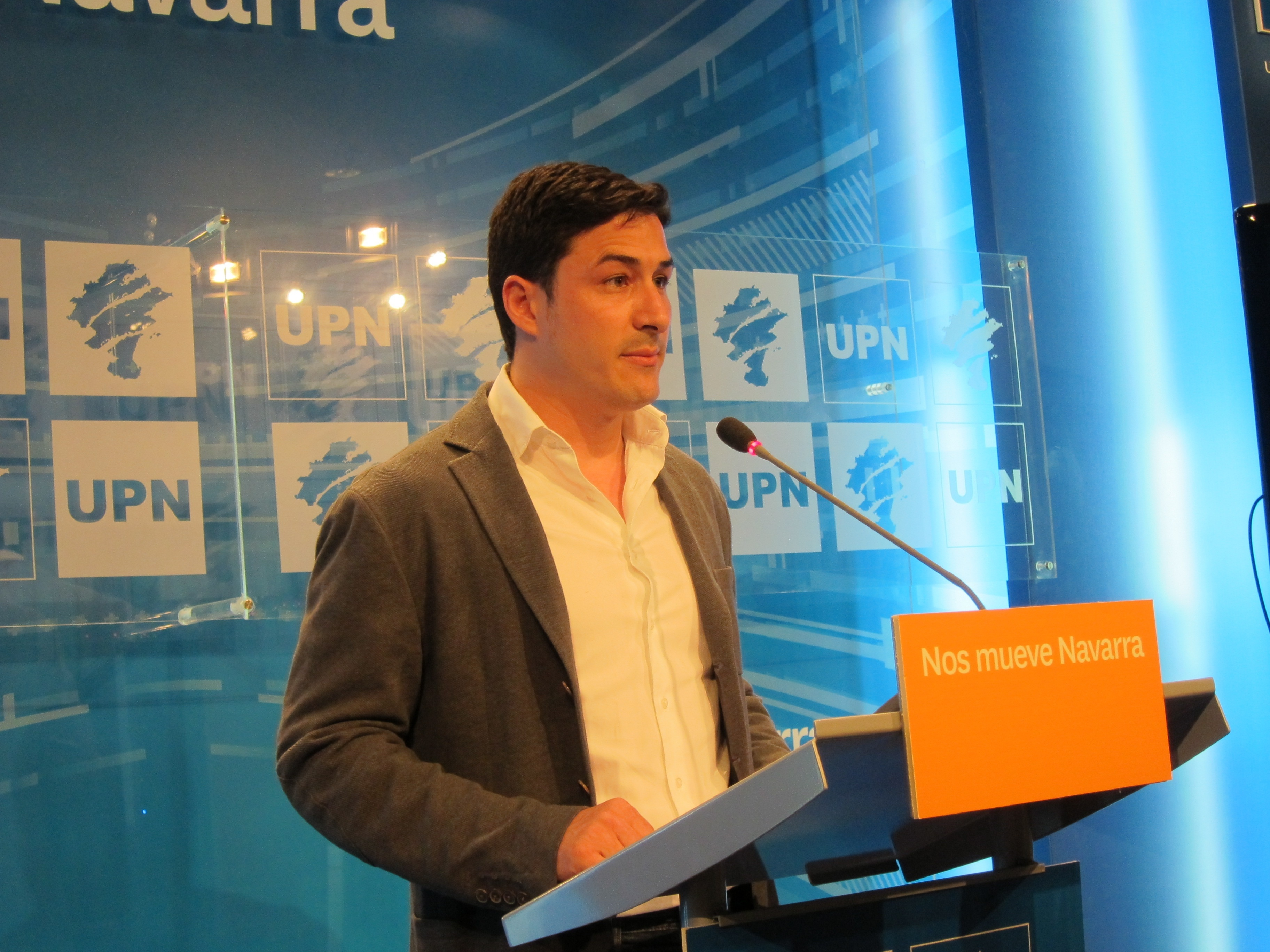 UPN pide a todos los partidos que «respeten» el régimen foral y reclama al PSOE que «desautorice» a Pere Navarro