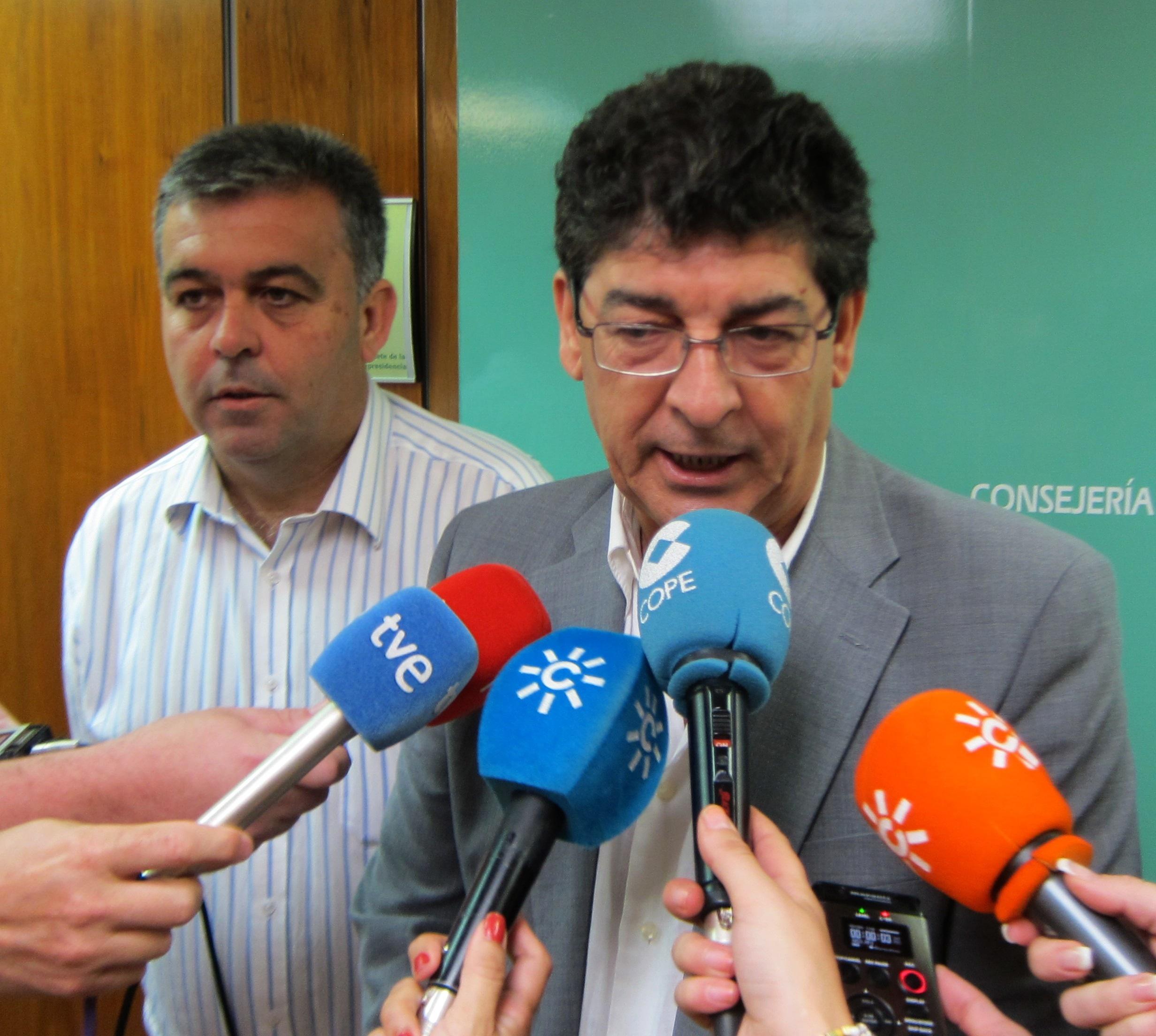Vicepresidente andaluz se compromete con los trabajadores de Navantia a reclamar a Montoro una mayor carga de trabajo