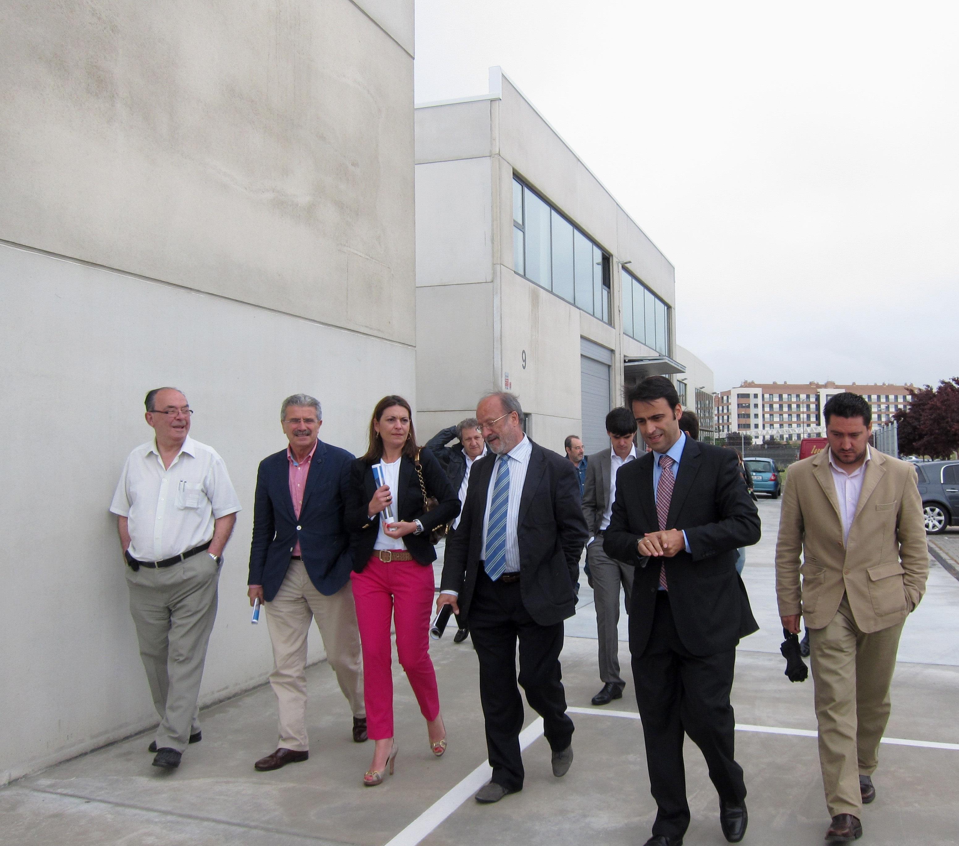 Una docena de autónomos y pymes construyen y se instalan en naves-nido en Valladolid tras una inversión de 1,7 millones