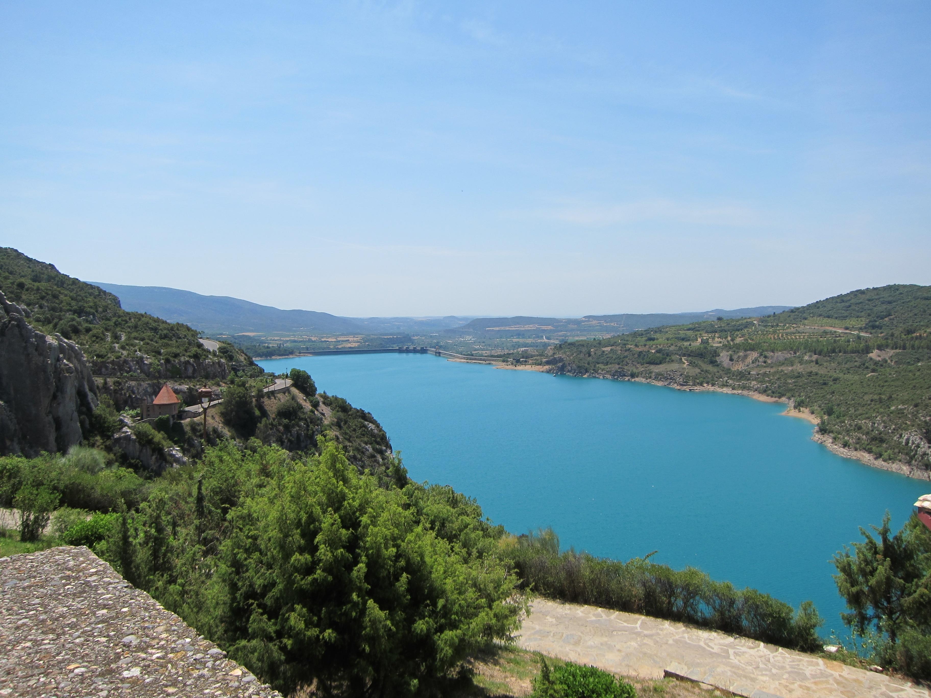 Los embalses de la Cuenca del Ebro se encuentran al 86,9% de su capacidad