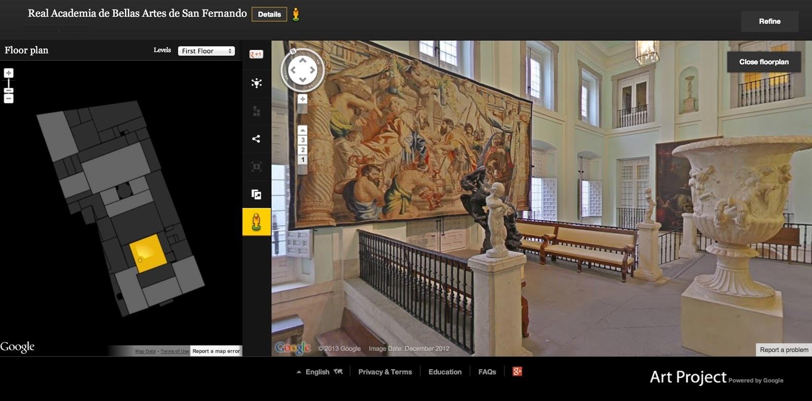 Ocho instituciones españolas se unen al Google Art Project