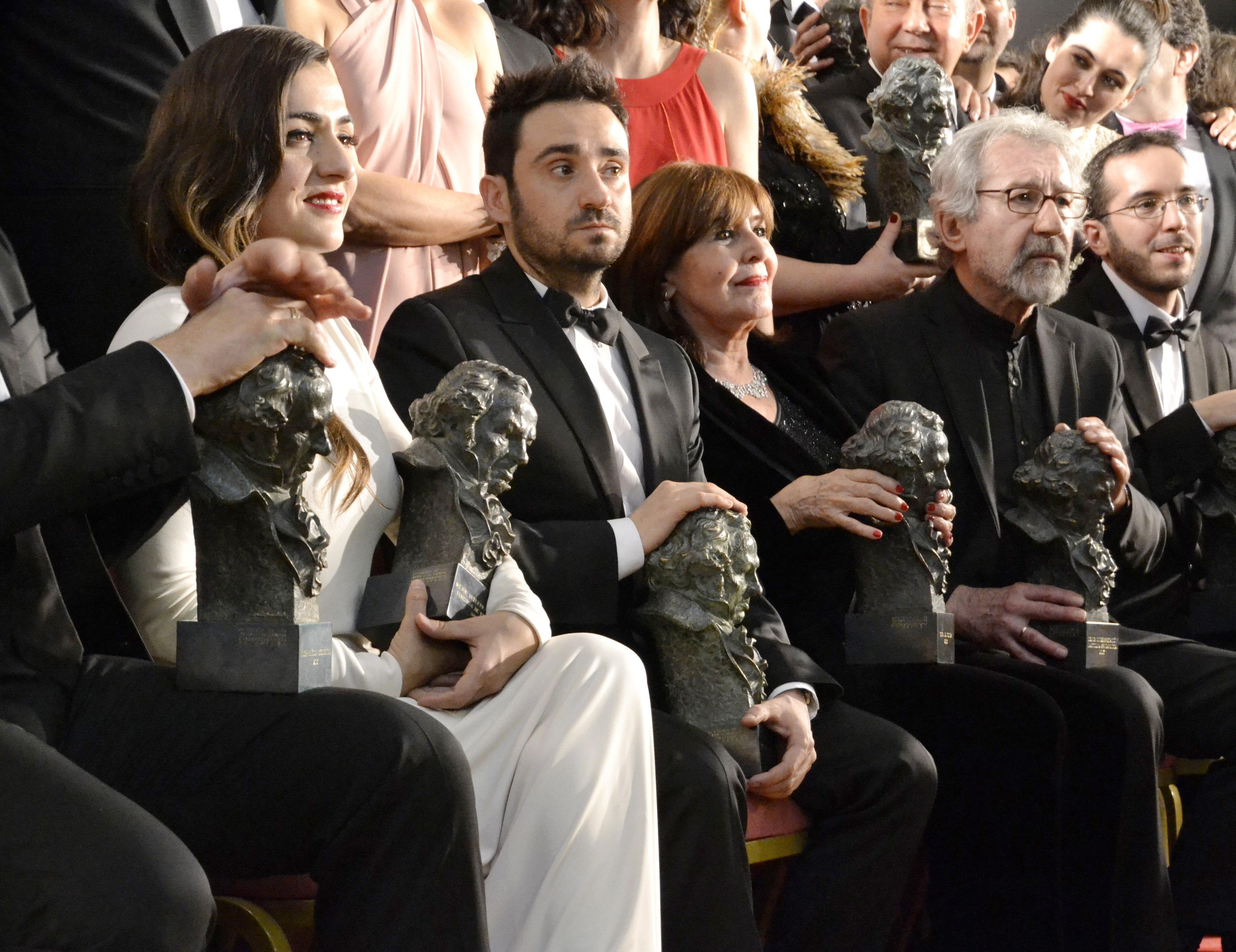 La Academía amplia a cinco las películas nominadas a Mejor Película en los Goya