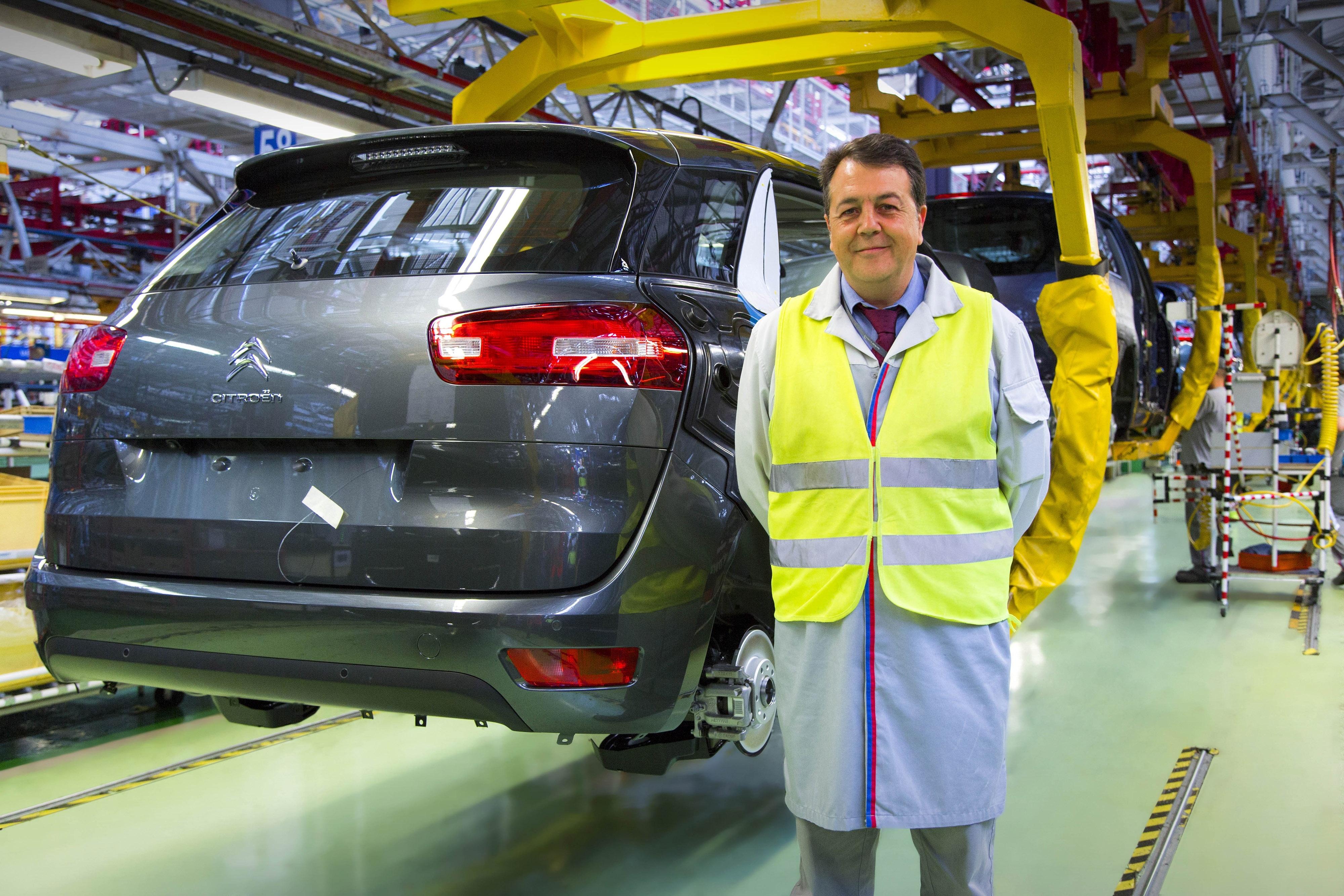 La producción anual del nuevo Citroën C4 Picasso en Vigo alcanzará 150.000 unidades