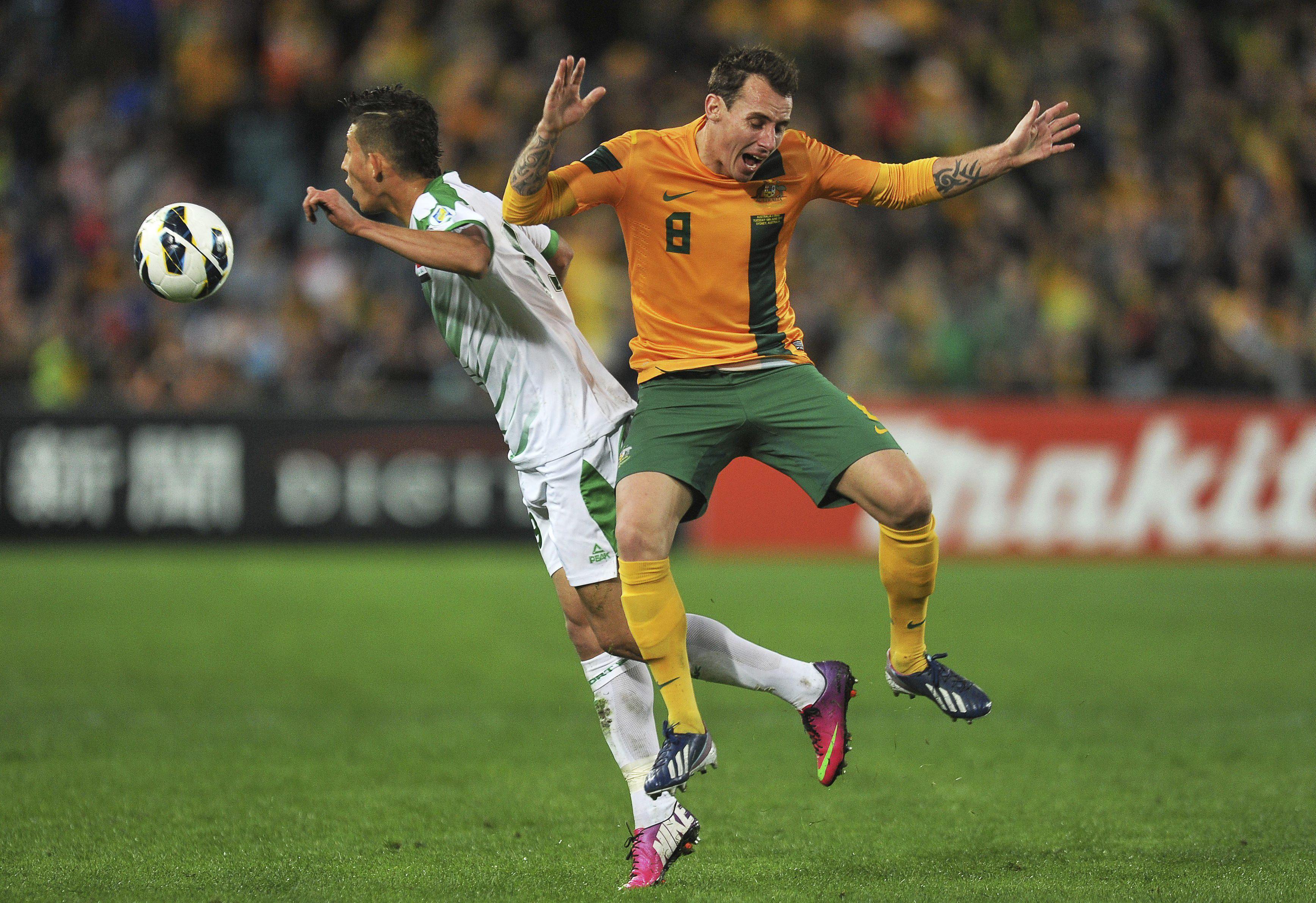 1-0. Australia, clasificada para el Mundial Brasil 2014