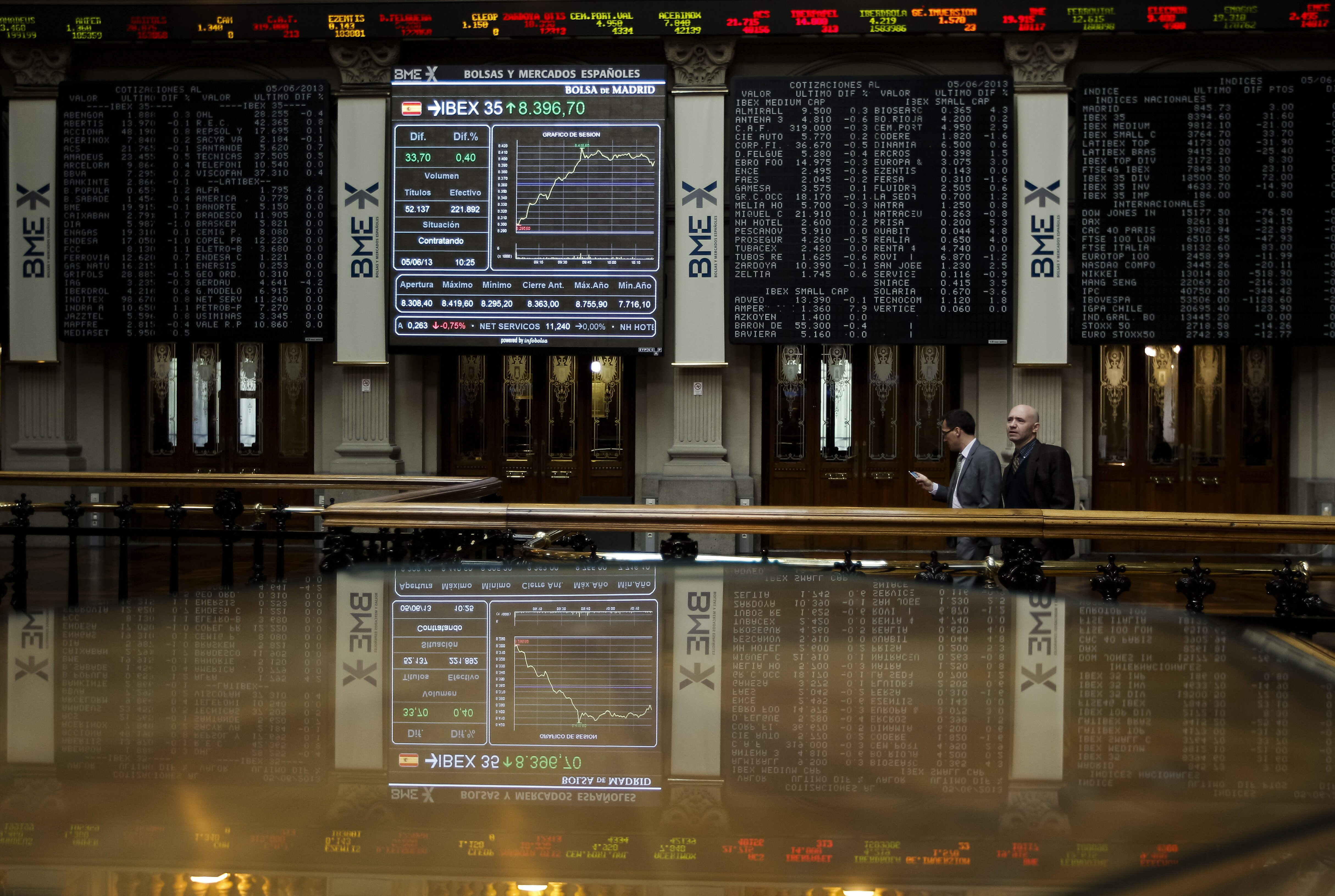La Bolsa española abre con pérdidas y el IBEX cae el 0,29 por ciento