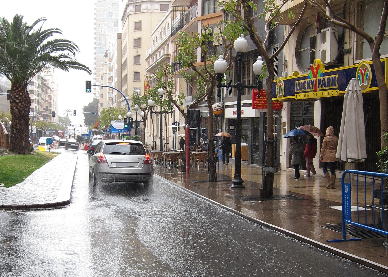 Castellón, en alerta amarilla por riesgo de lluvias