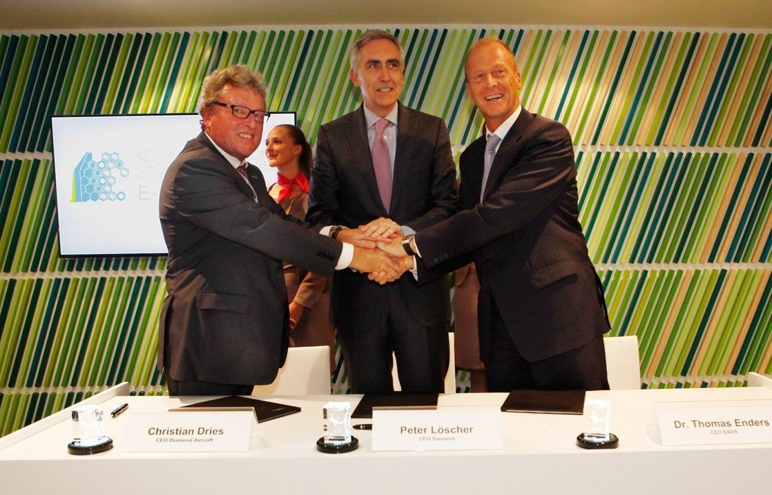 EADS y Siemens formalizan una asociación de investigación a largo plazo