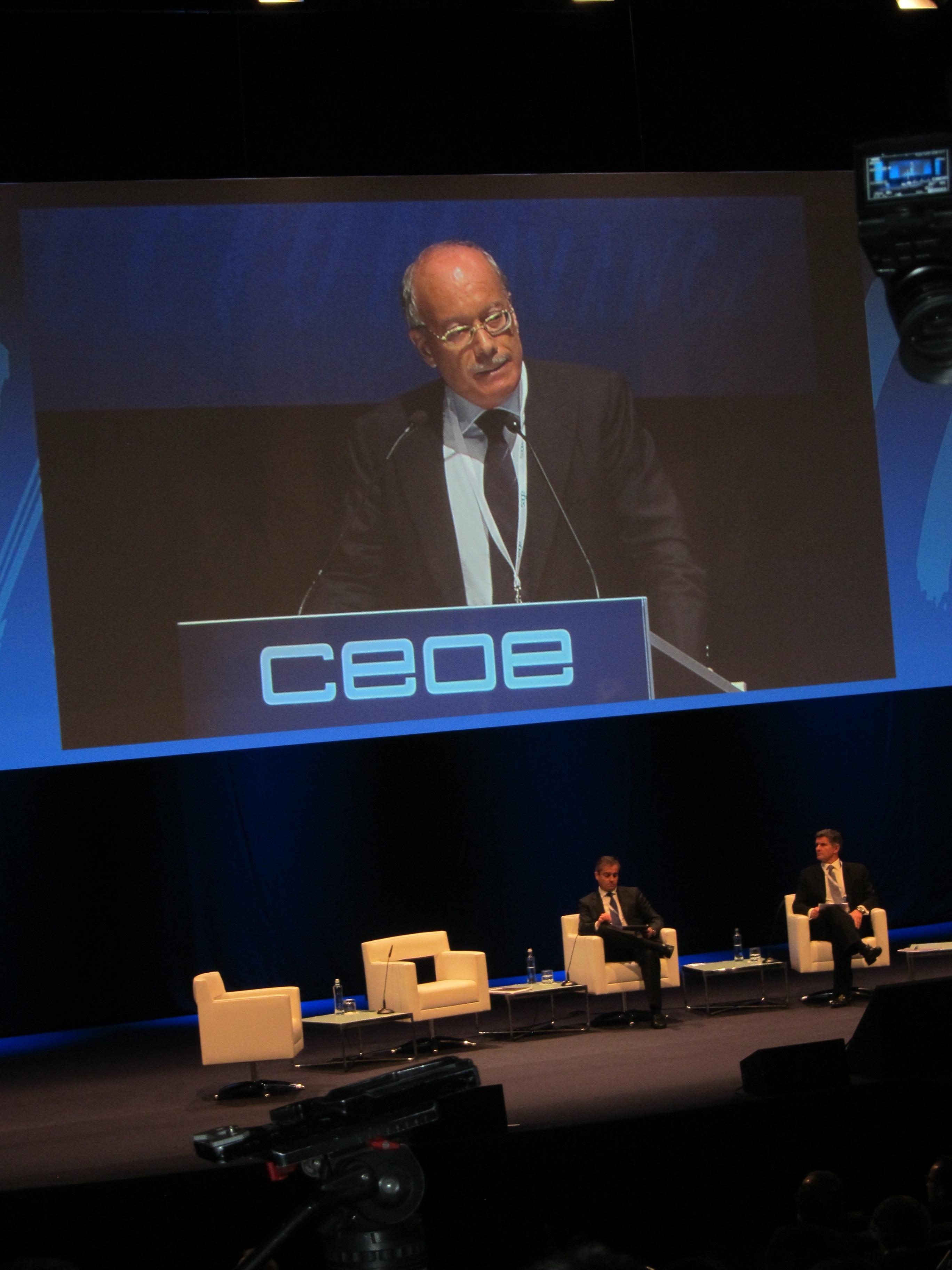 Feito (CEOE): «Ni siquiera el Gobierno puede impedir la recuperación de la economía este año»