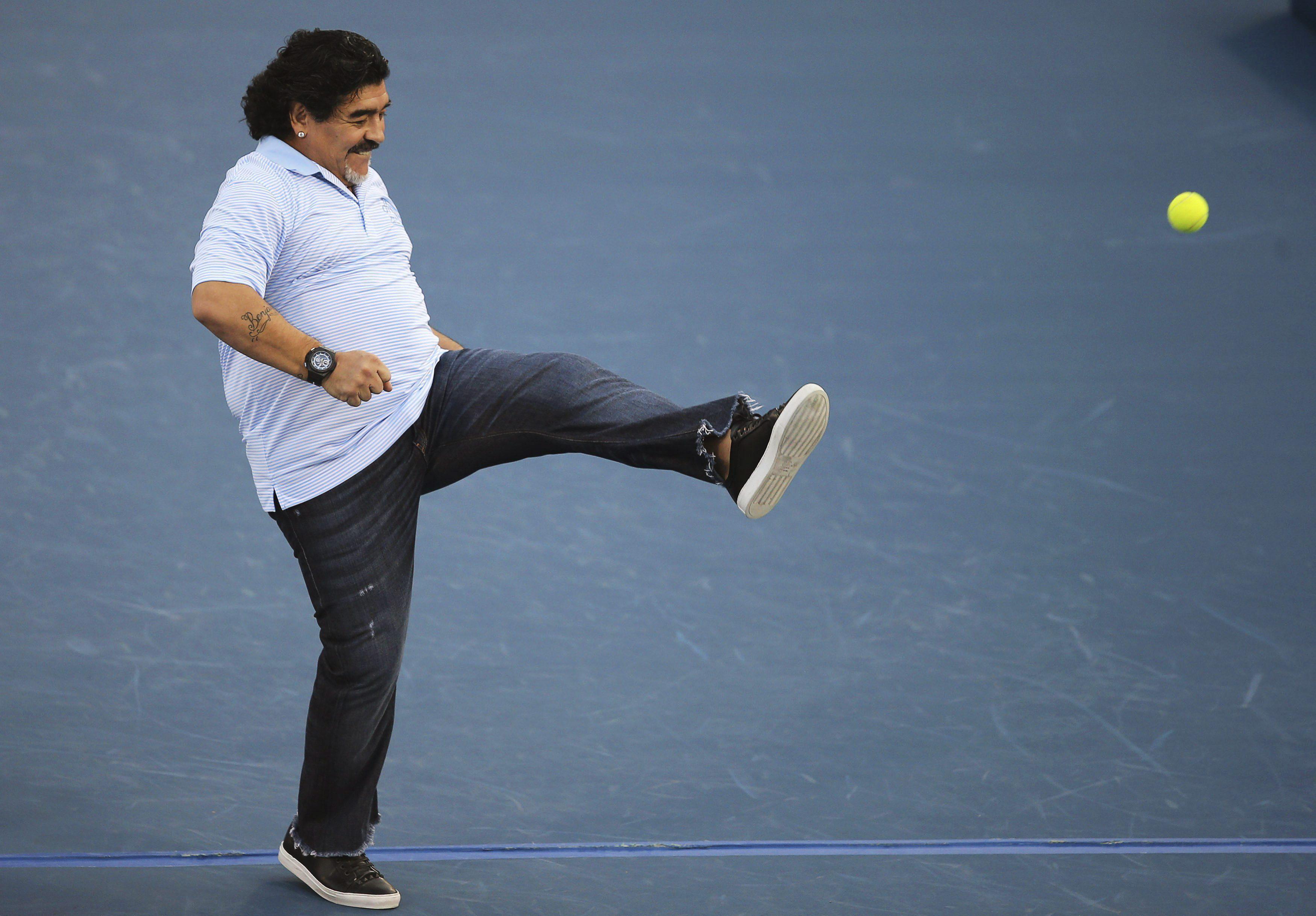 Maradona gana un juicio en China contra una firma ligada al equipo chino de Batista