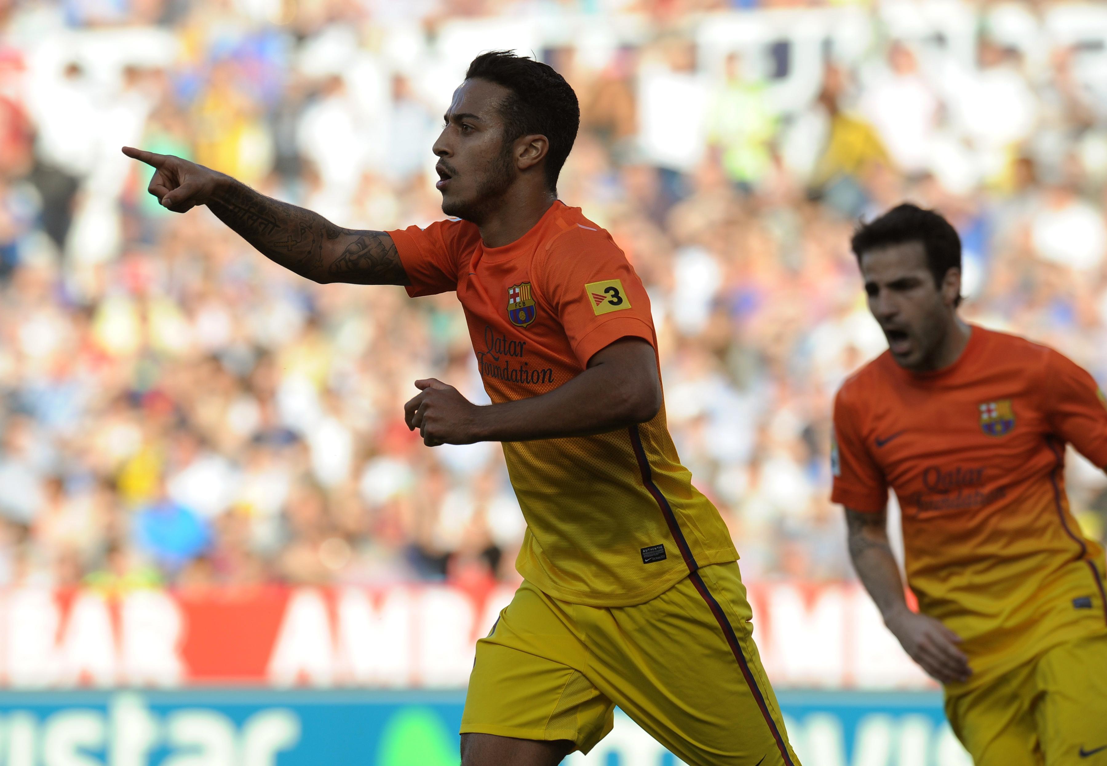 Thiago le comunica a Vilanova su decisión de marcharse del Barça