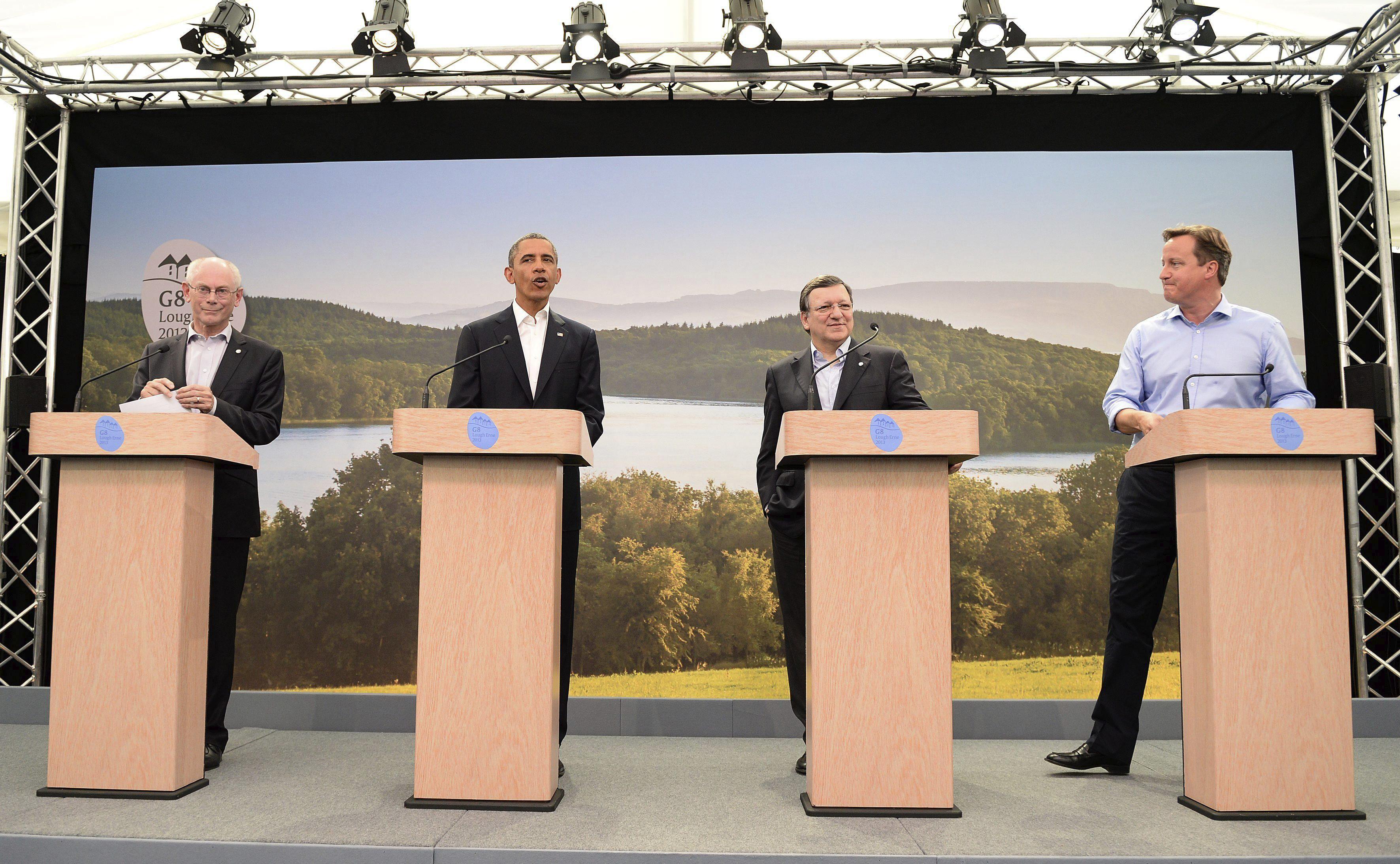 Los líderes del G8 prevén un crecimiento débil de la economía